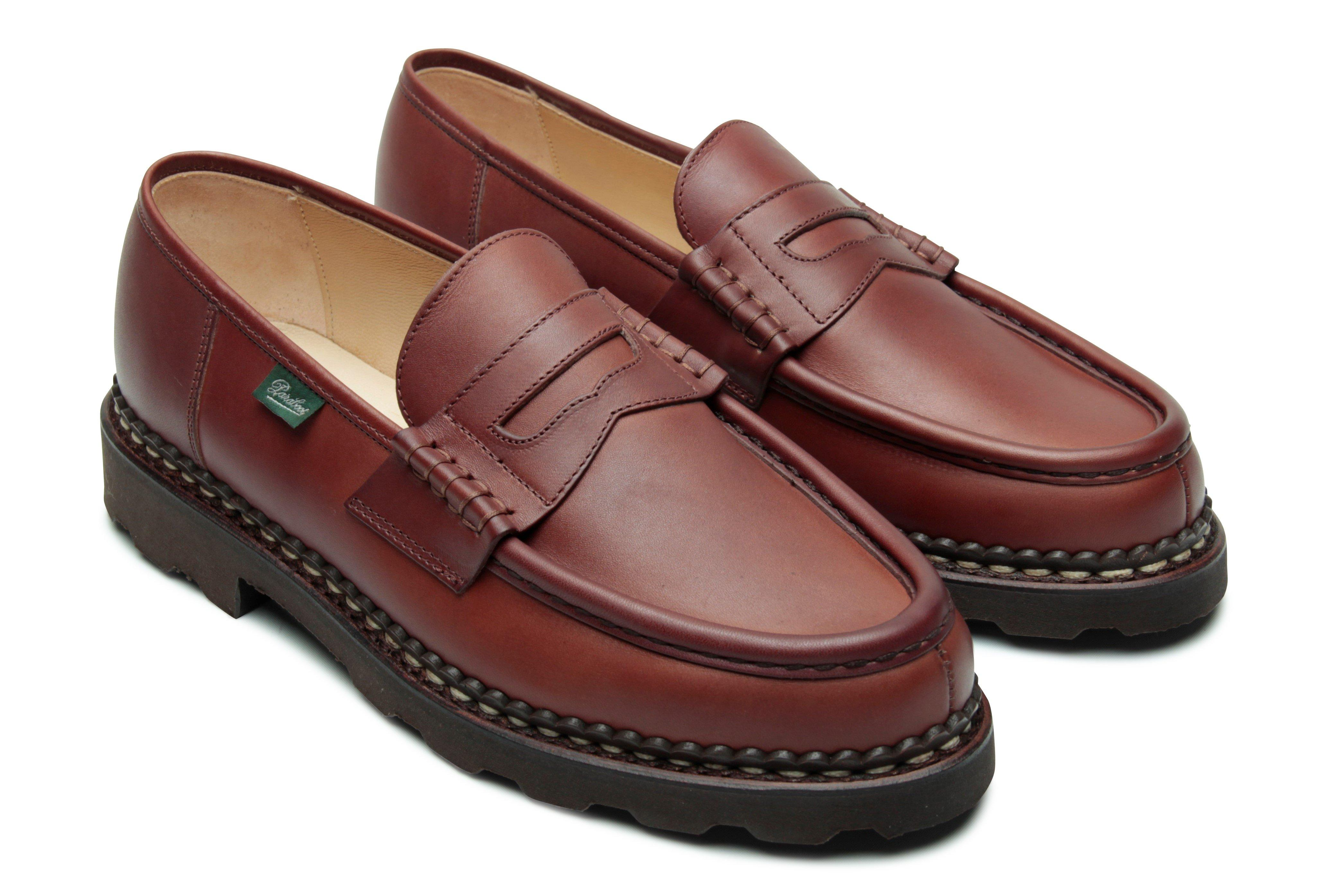 #099413 Made in France Paraboot Reims//Marche Marron-Lis Cafe Brown