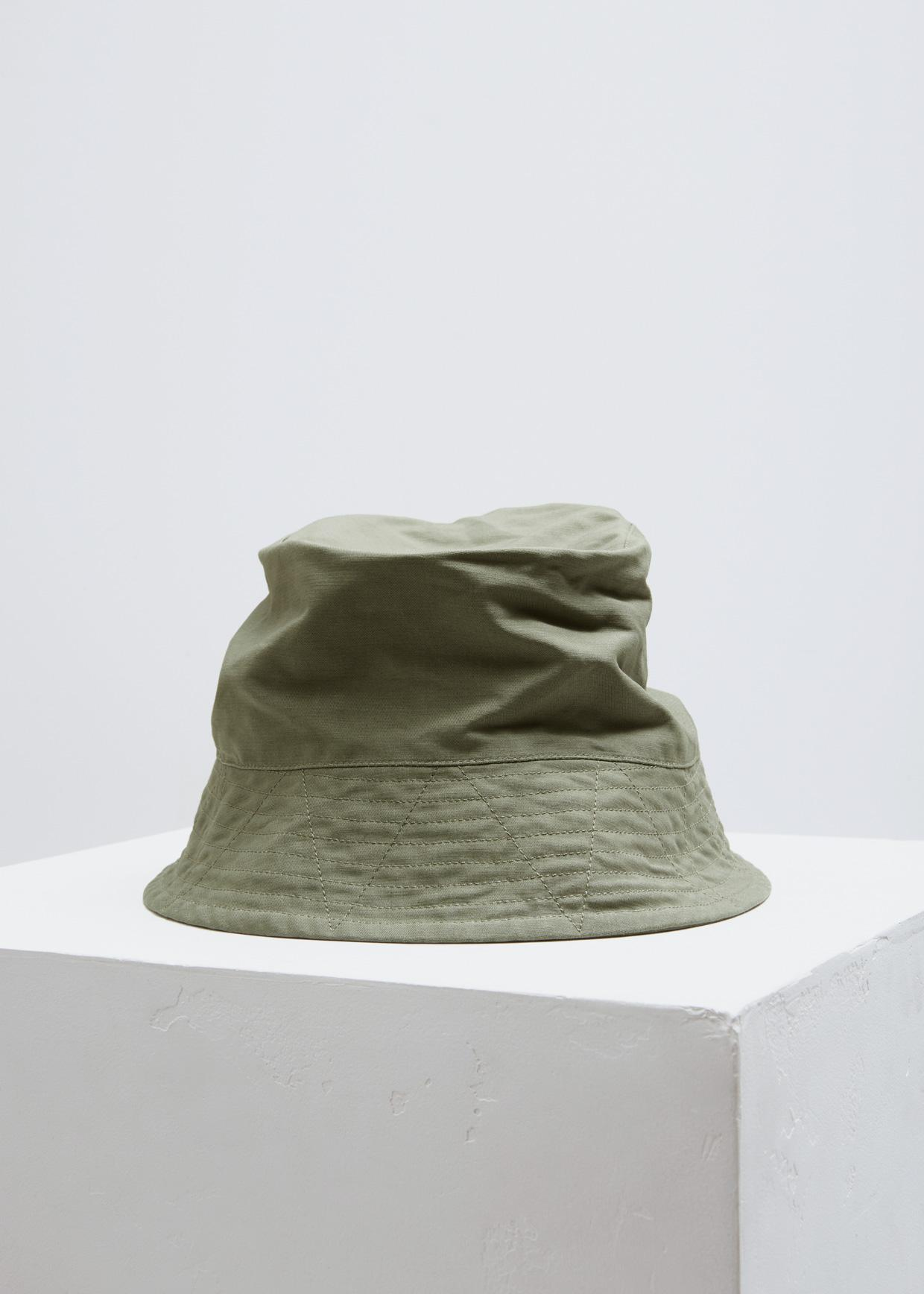 96aaa1d03ac Lyst - Engineered Garments Double Cloth Bucket Hat in Green for Men