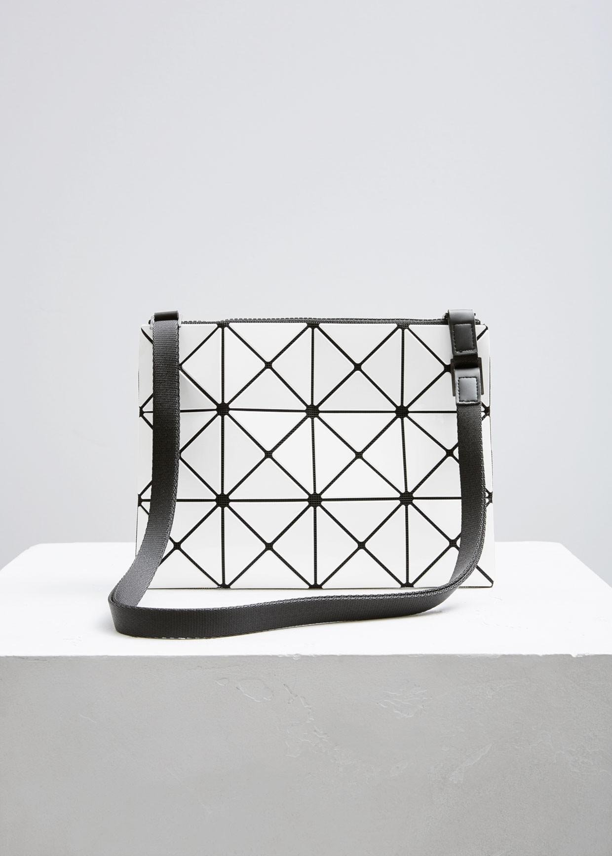 bao bao issey miyake large lucent basic cross body bag white in ... 6af84bf631cc4