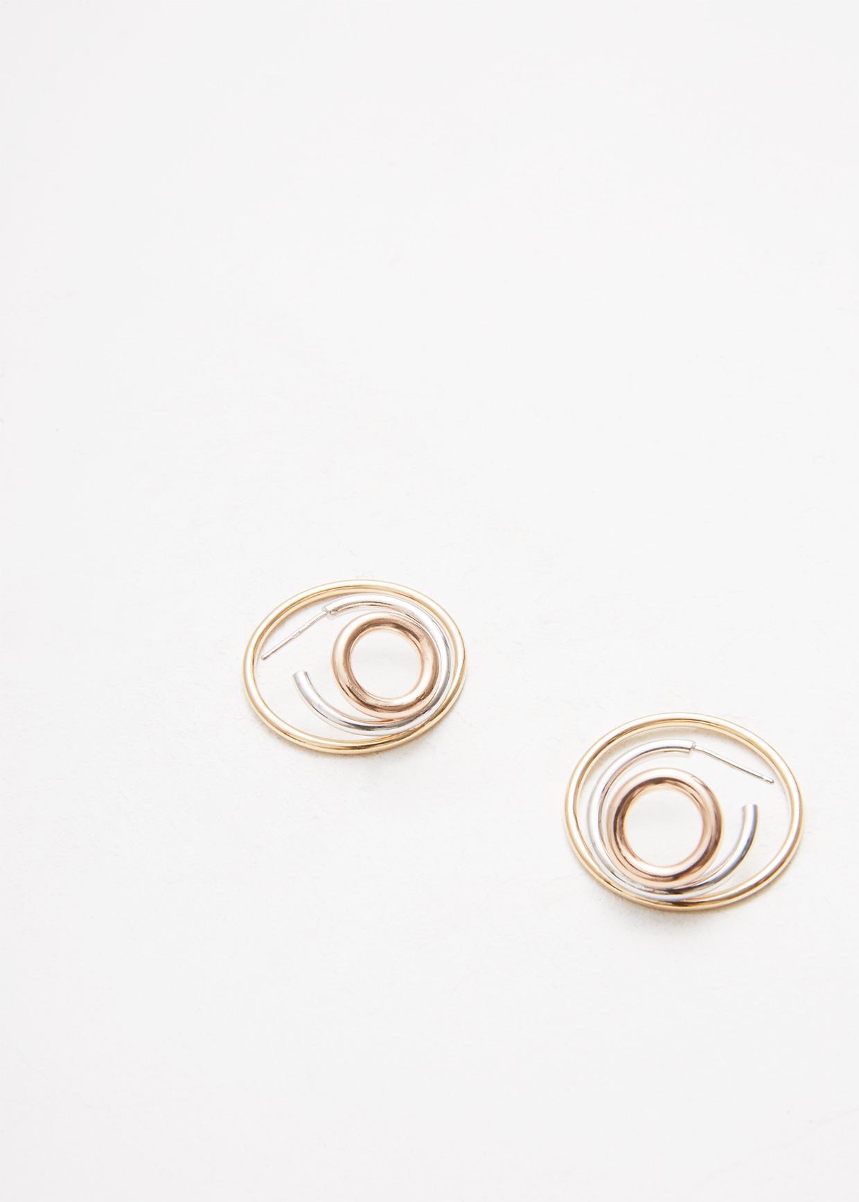 Charlotte Chesnais Ricoche Medium Earrings - Silver Silver BZGF8i4dx