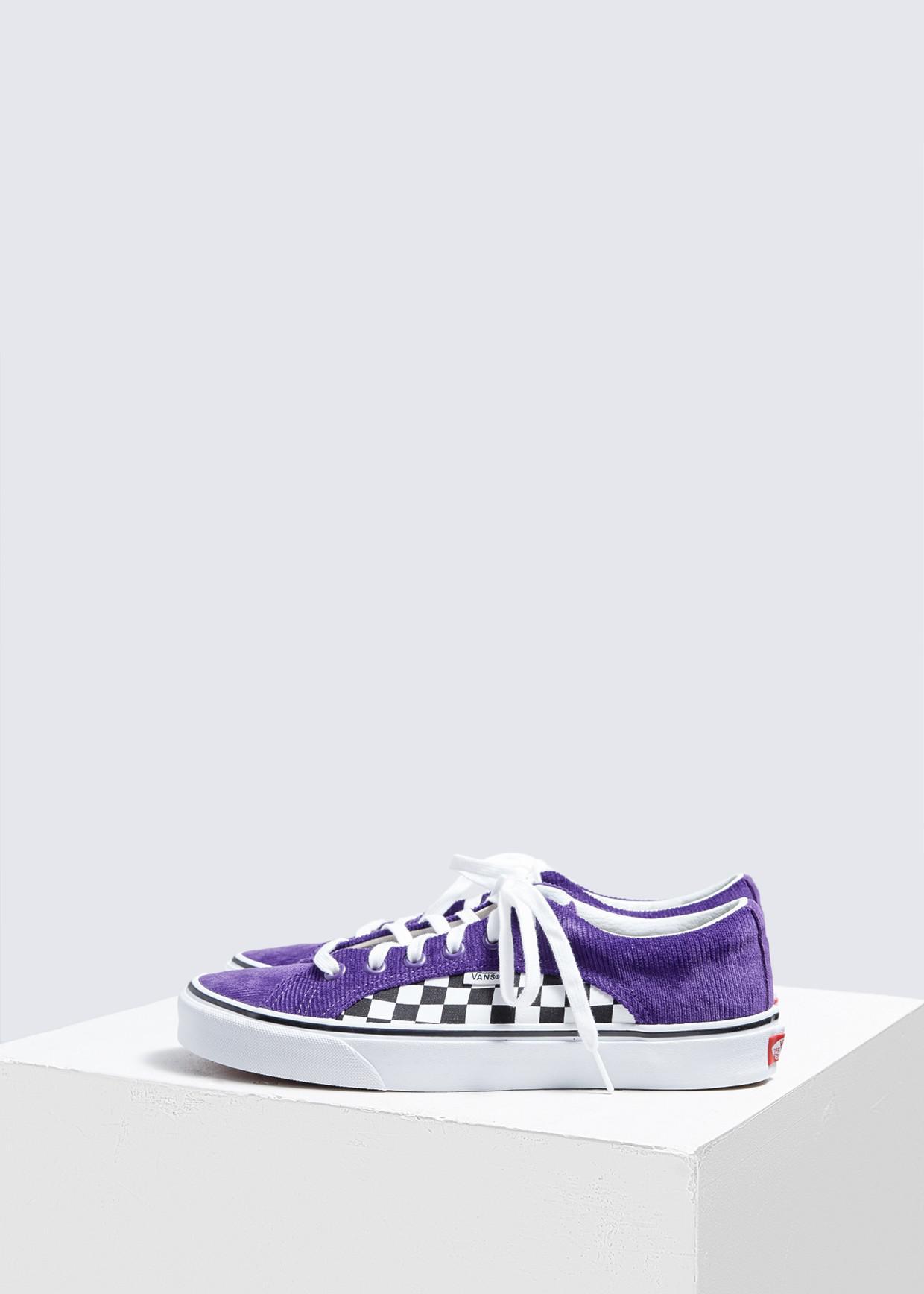 a14e369f9d5907 Lyst - Vans Checker   Cord Lampin Sneaker in White for Men