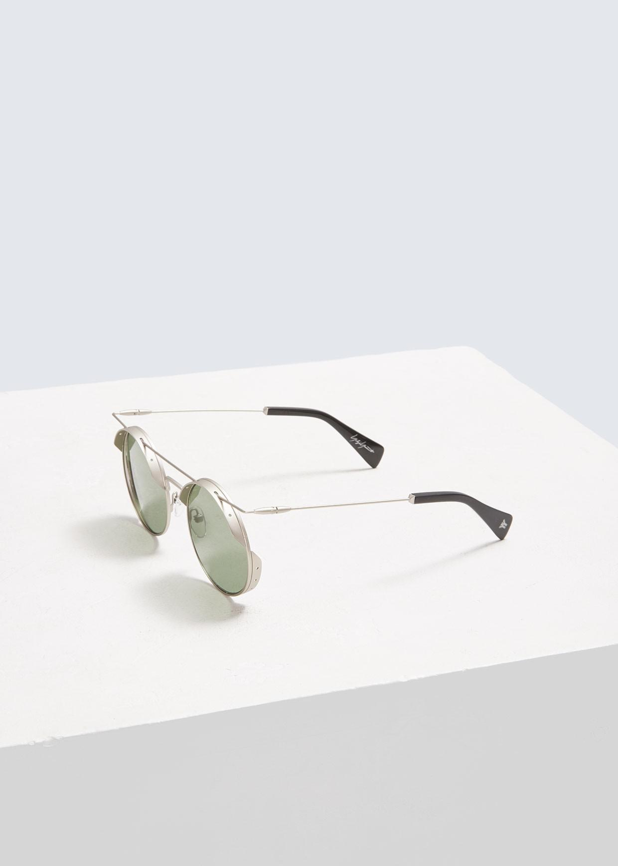 6802e125d0a Lyst - Yohji Yamamoto Steampunk Sunglasses in Metallic