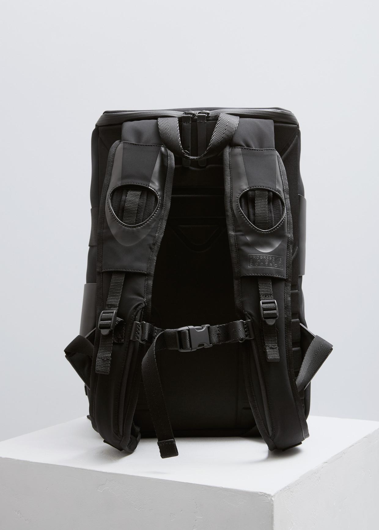 8df58da612 Lyst - Y-3 Black Qrush Backpack Small in Black for Men