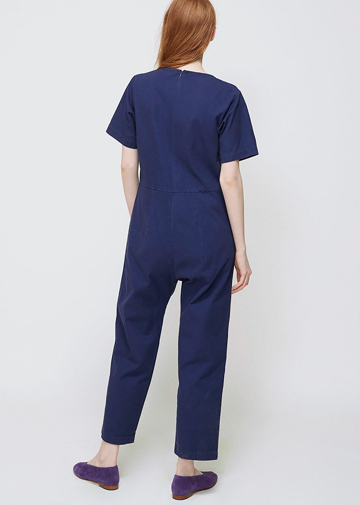 1862fba7cba4 Lyst - Ilana Kohn Marine Canvas Lee Jumpsuit in Blue