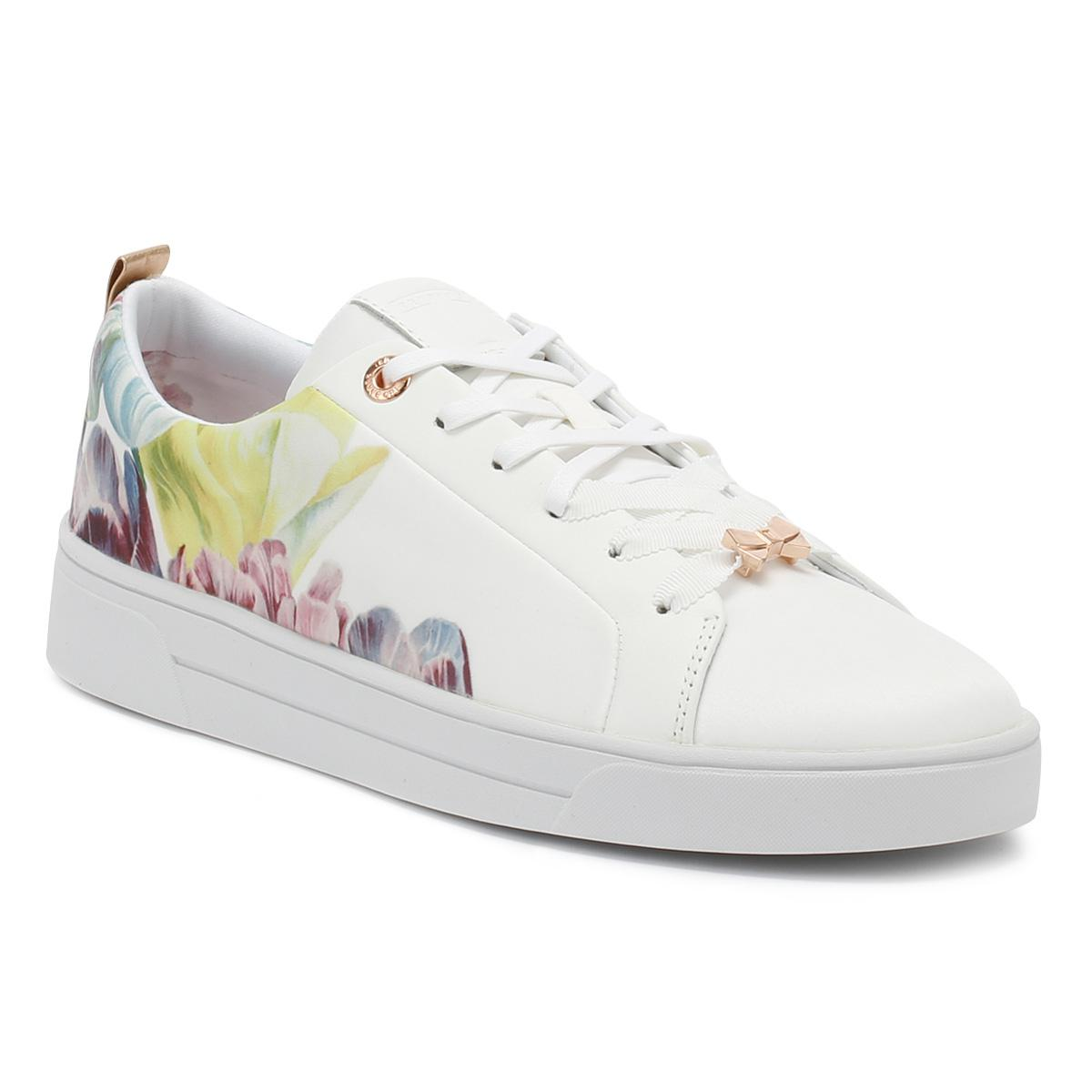 Ted Baker AHFIRA - Trainers - tranquility white ueFoSBTnKS