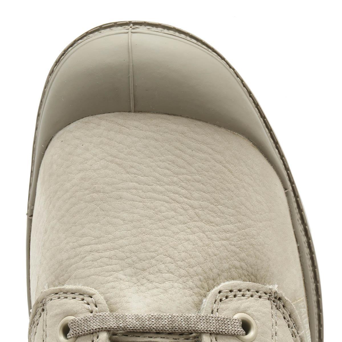 Palladium Wool Pampa Hi Zip Wl Womens Feather Grey Boots in