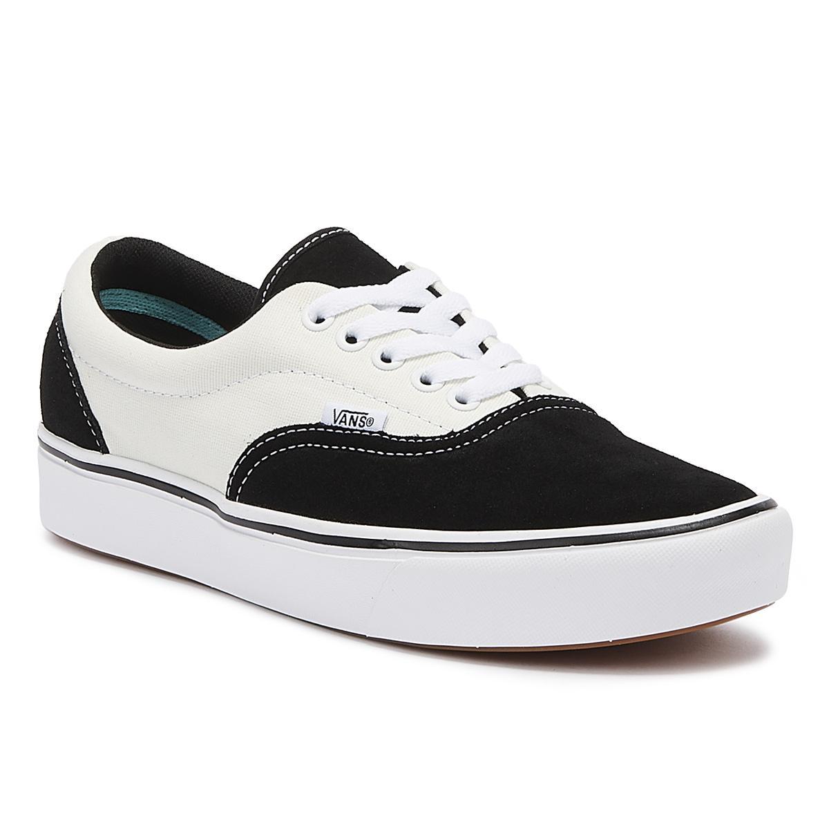 Comfycush Era Mens Black / Marshmallow Sneakers