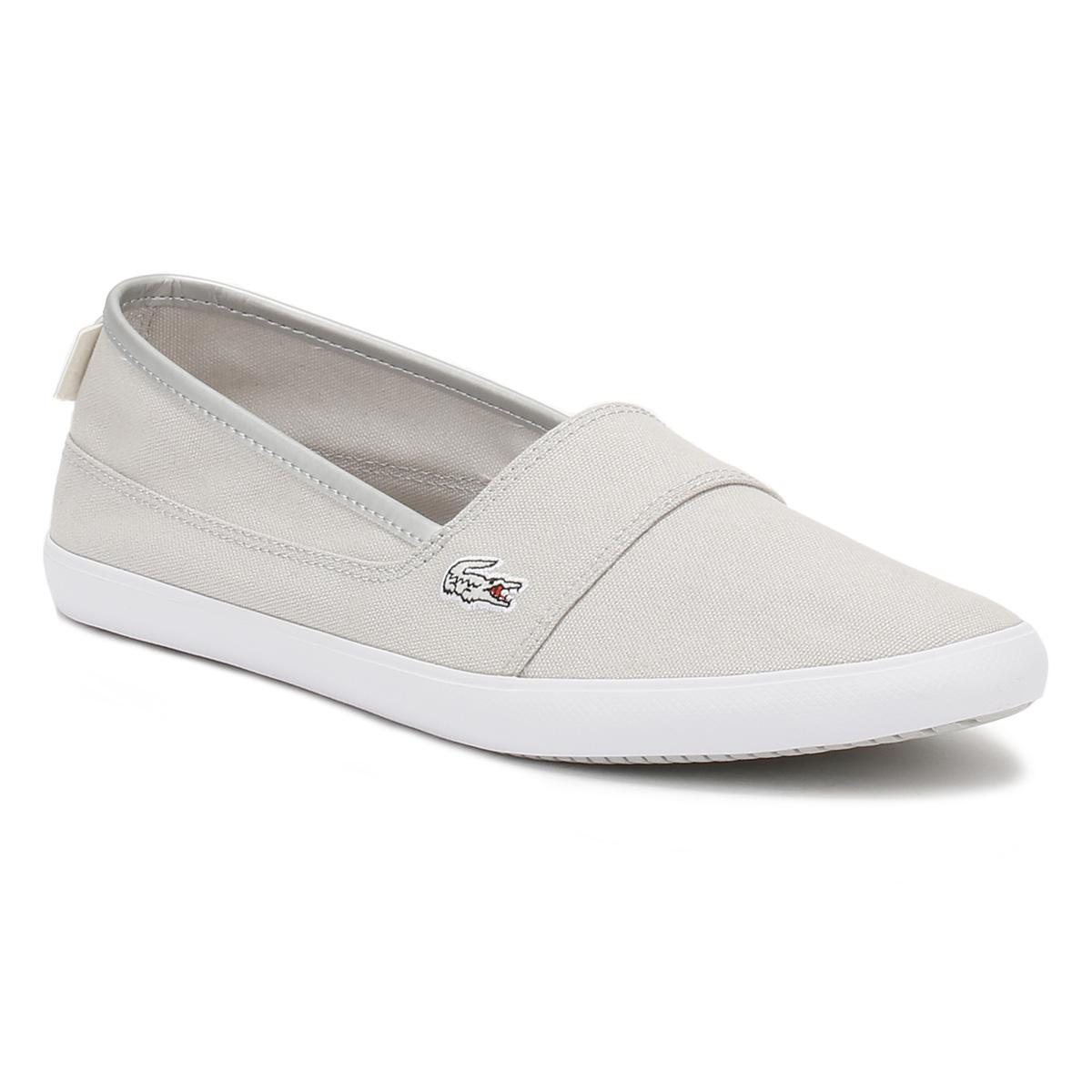 b84690dde Lyst - Lacoste Womens Light Grey Marice 217 2 Caw Trainers in Gray