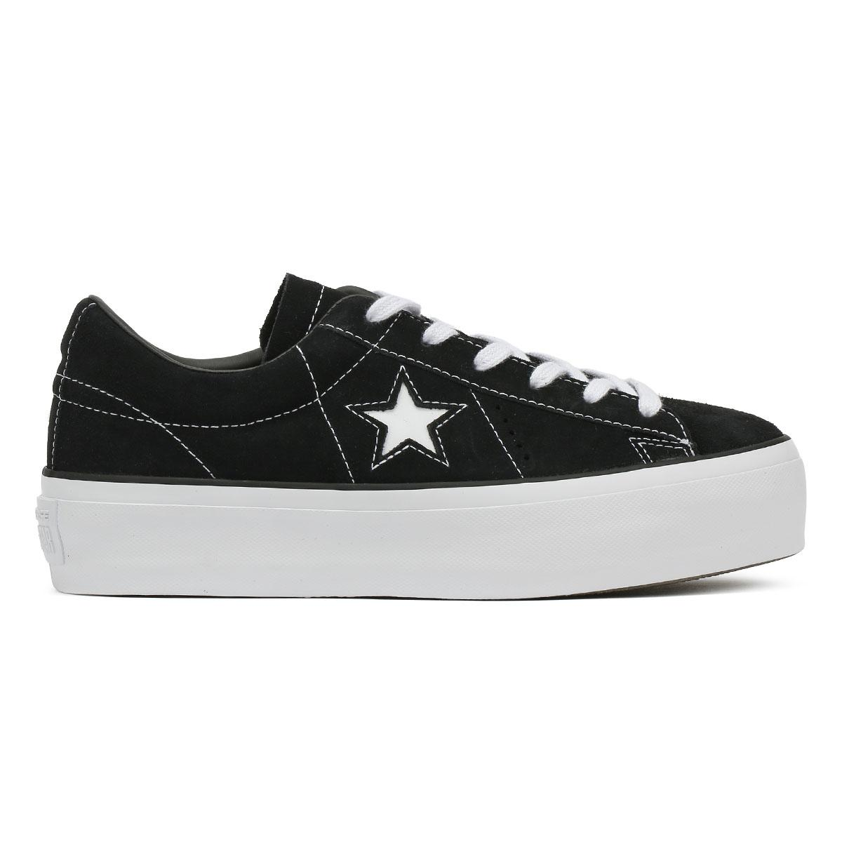 Converse One Star Platform Ox Trainers