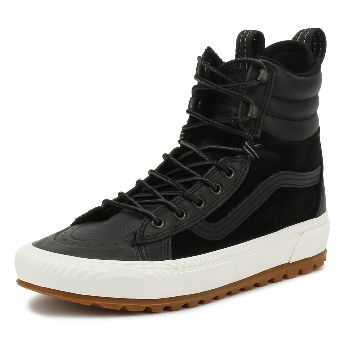 17cee77d04 Vans - Sk8-hi Mte Dx Black Boots for Men - Lyst. View fullscreen