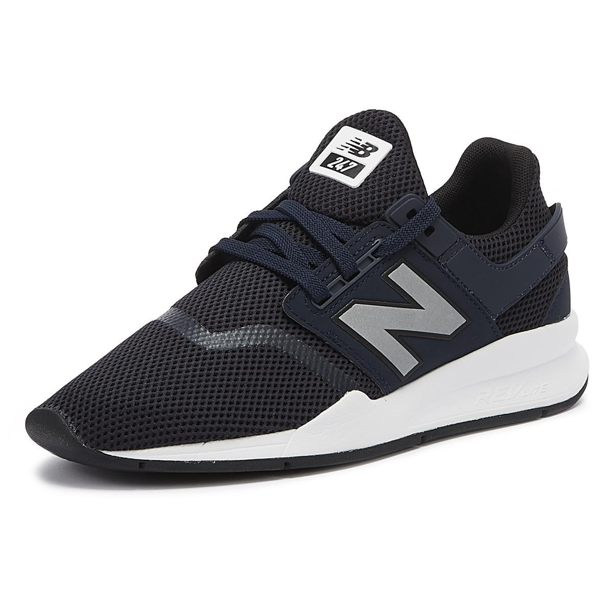 New Balance Synthetic 247v2 Mens Navy Trainers in Blue for Men - Lyst