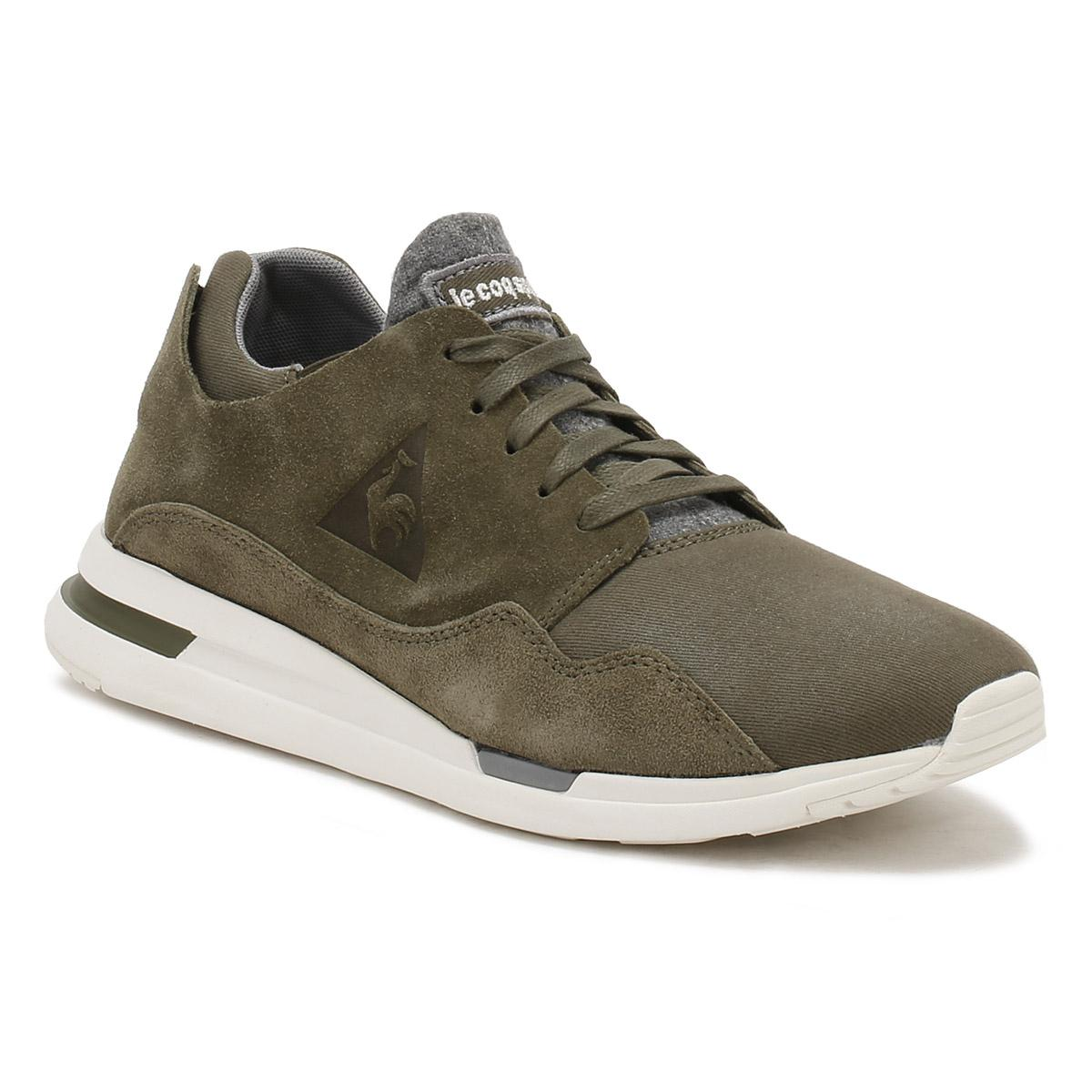 4bde9960b7a0 Lyst - Le Coq Sportif Mens Olive Night Green Lcs R Pure Trainers in ...