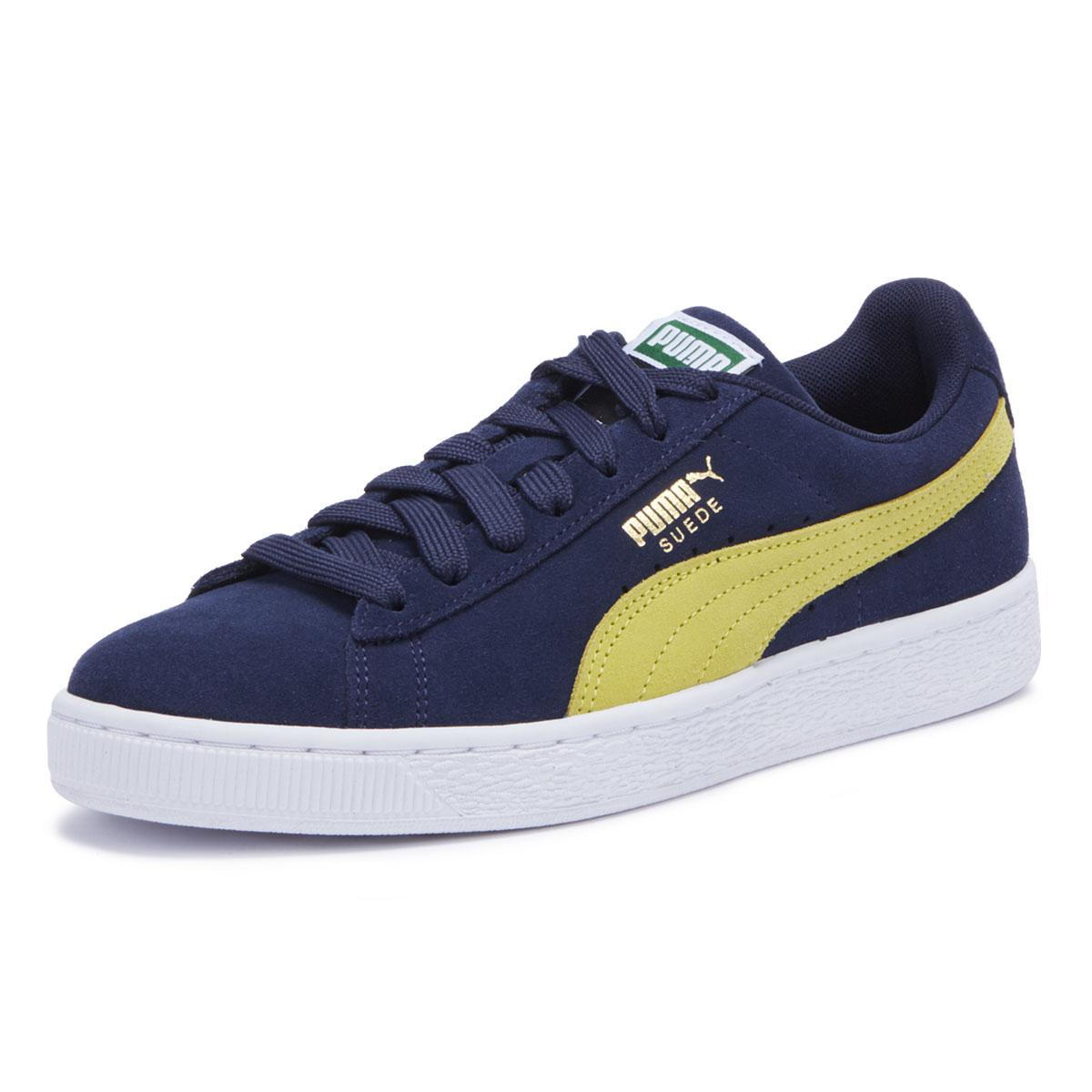 d72c2d87d085 Lyst - PUMA Unisex Adults  Suede Classic Low-top Sneakers in Blue ...