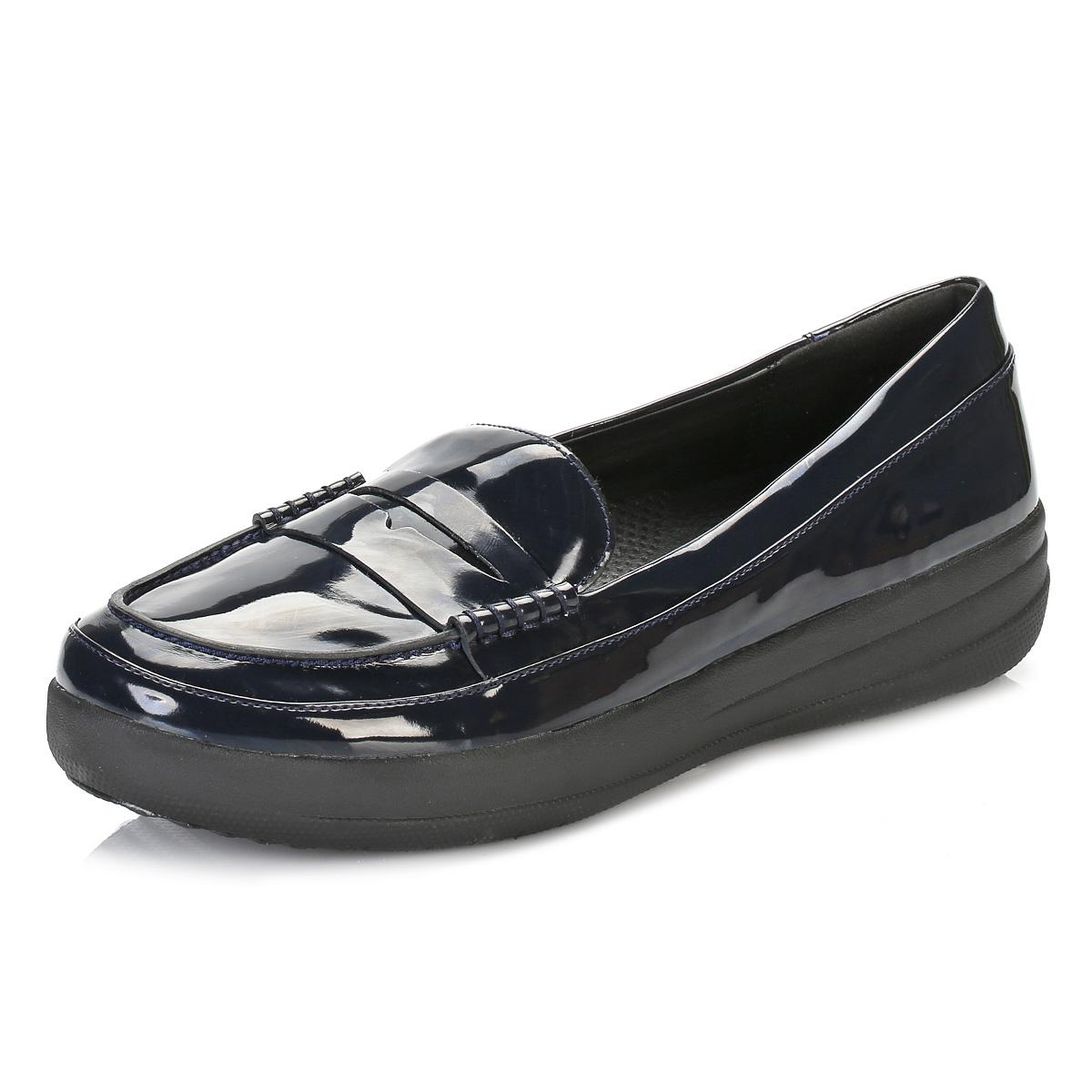 Fitflop Synthetic Womens Supernavy Patent F-sporty Penny ...