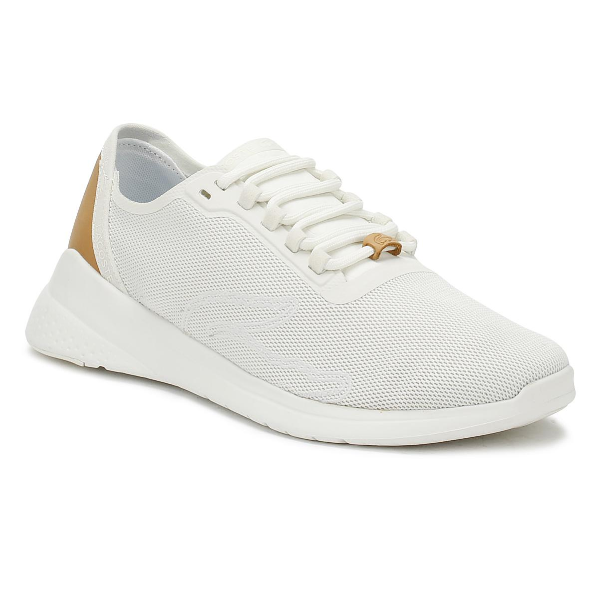 ac0a8b744ac99f Lyst - Lacoste Womens Off White Lt Fit 118 2 Trainers Women s Shoes ...