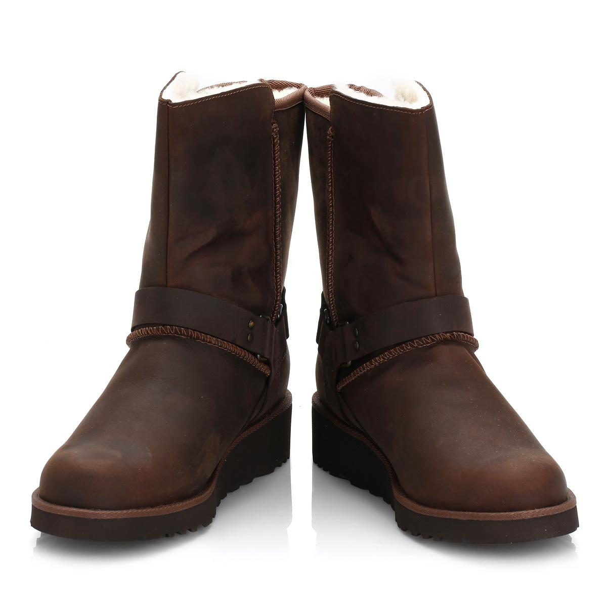 1b59ce2a151 Ugg Ugg Womens Chestnut Brown Maddox Leather Boots
