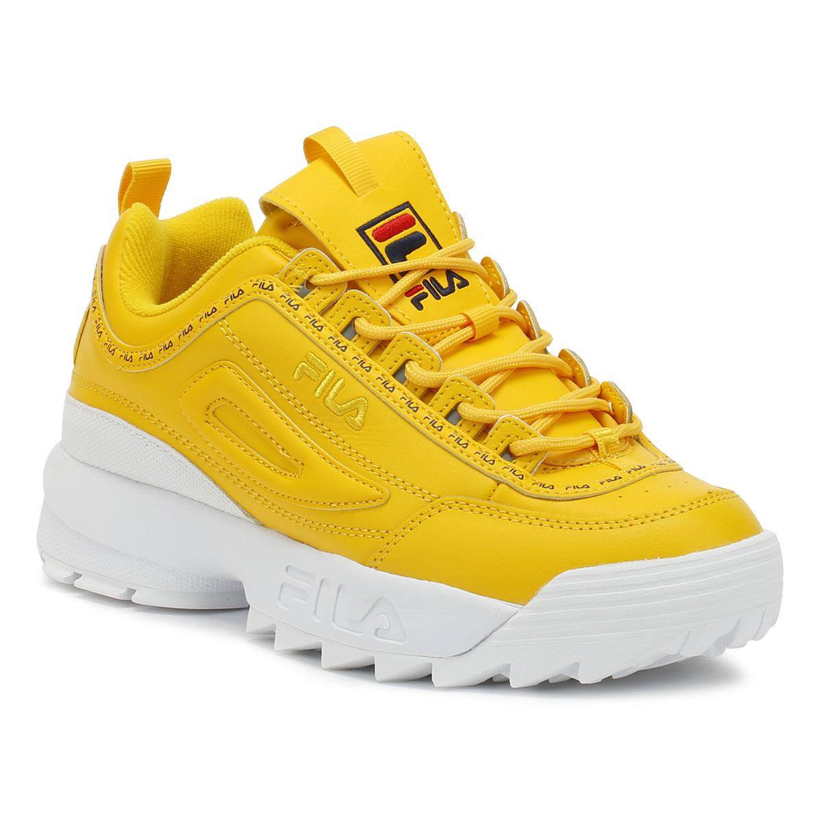 fila disruptor mustard