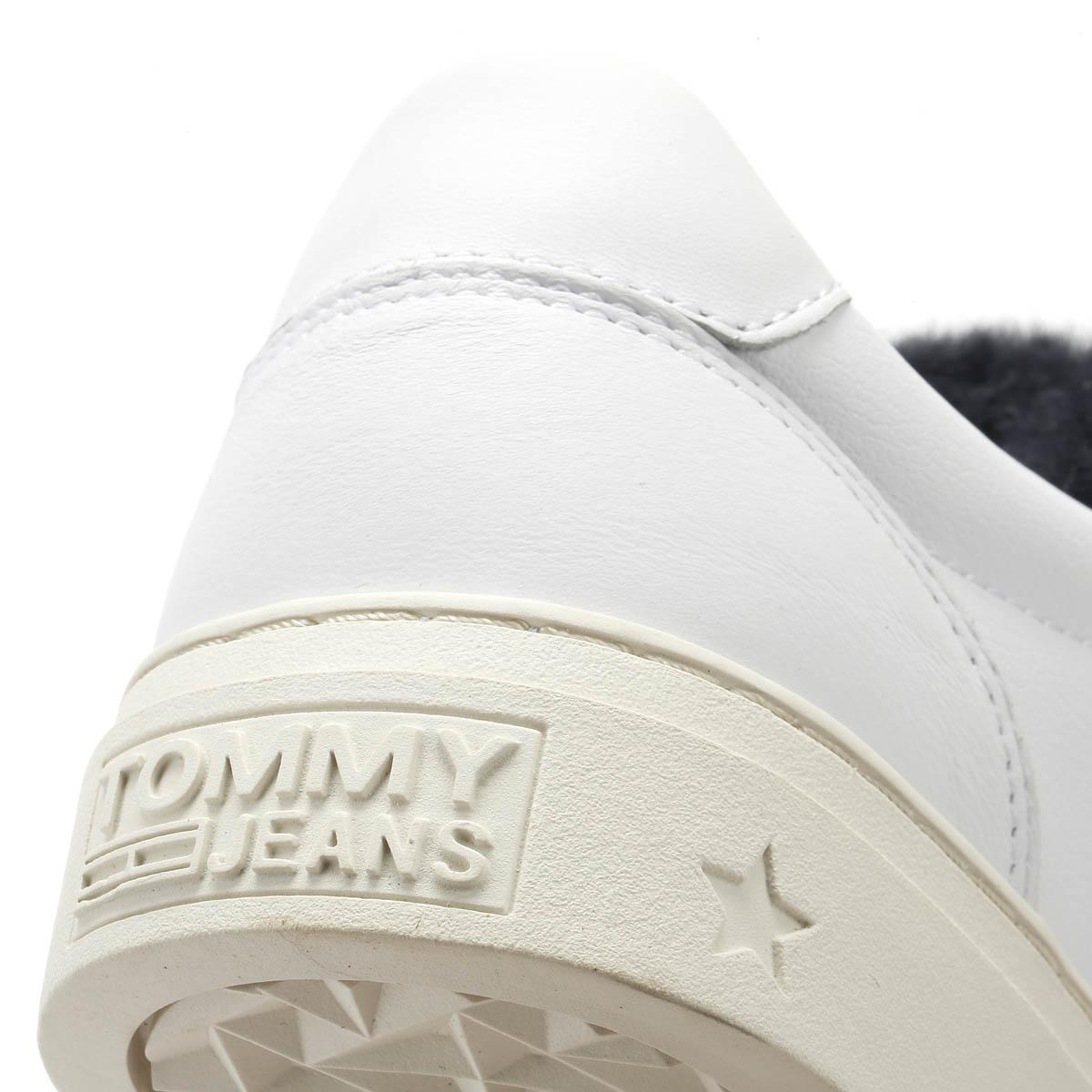 b27a87d54 Tommy Hilfiger - Womens White Funny Fur Star Trainers Women s Shoes ( trainers) In Multicolour. View fullscreen