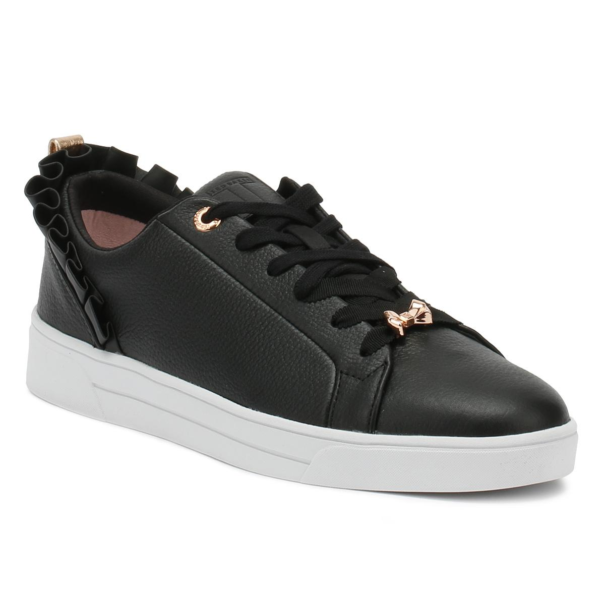 Ted Baker Leather Womens Black Astrina