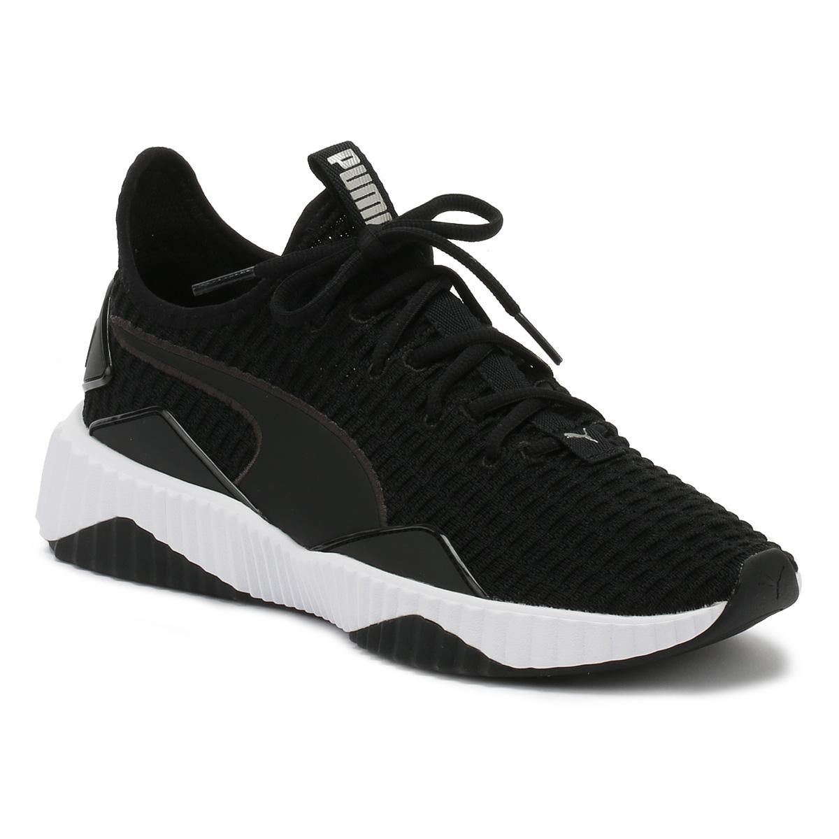 edbaa1ac Womens Selena Gomez Black / Black Defy Sneakers