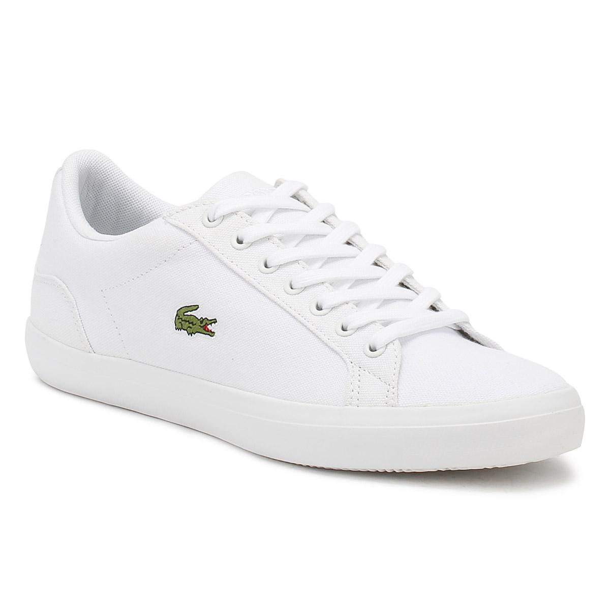 f02302d91 Lacoste Mens White Lerond Bl 2 Cam Trainers in White for Men - Lyst