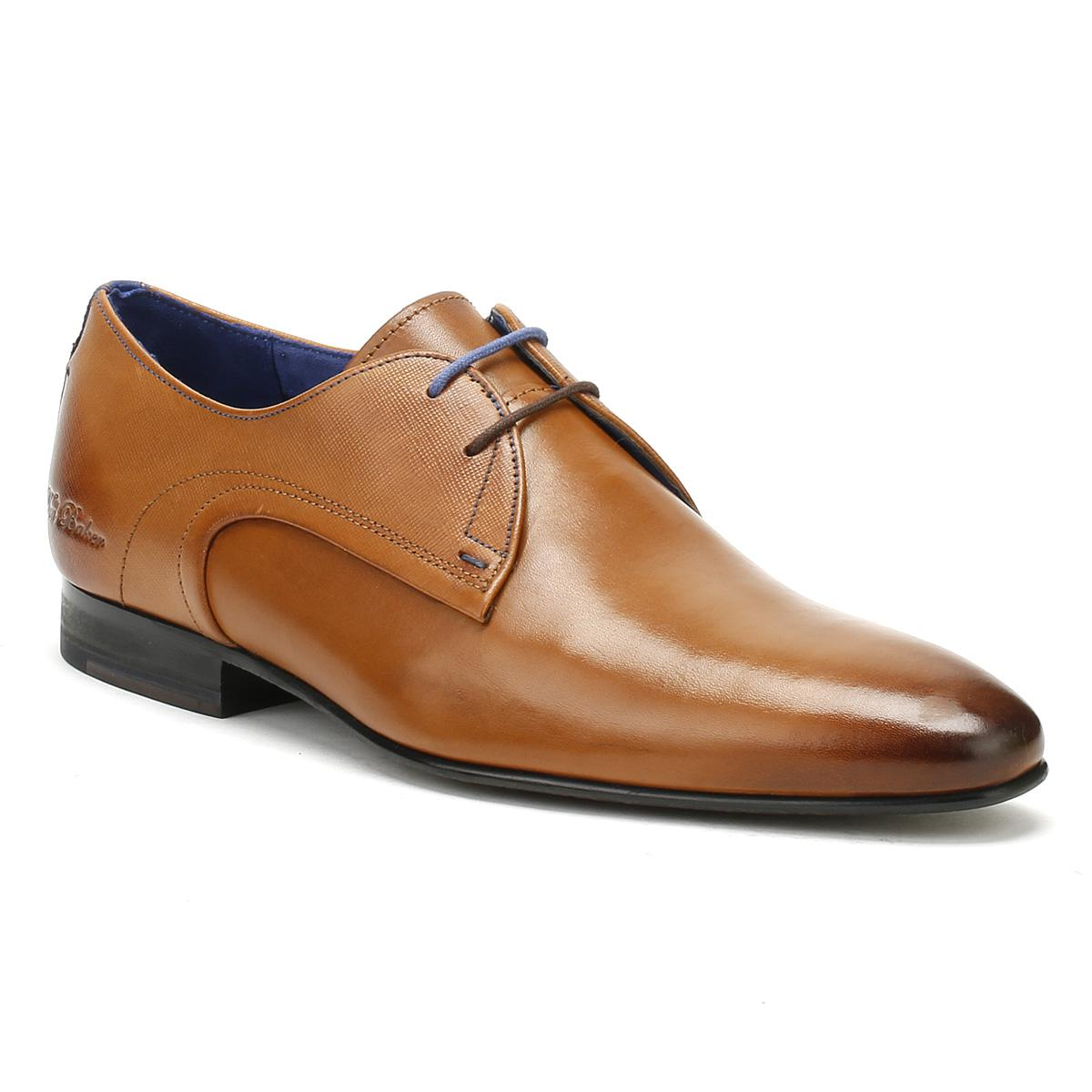 470a6dd12c2018 Lyst - Ted Baker Mens Tan Leather Peair Shoes in Brown for Men - Save 2%