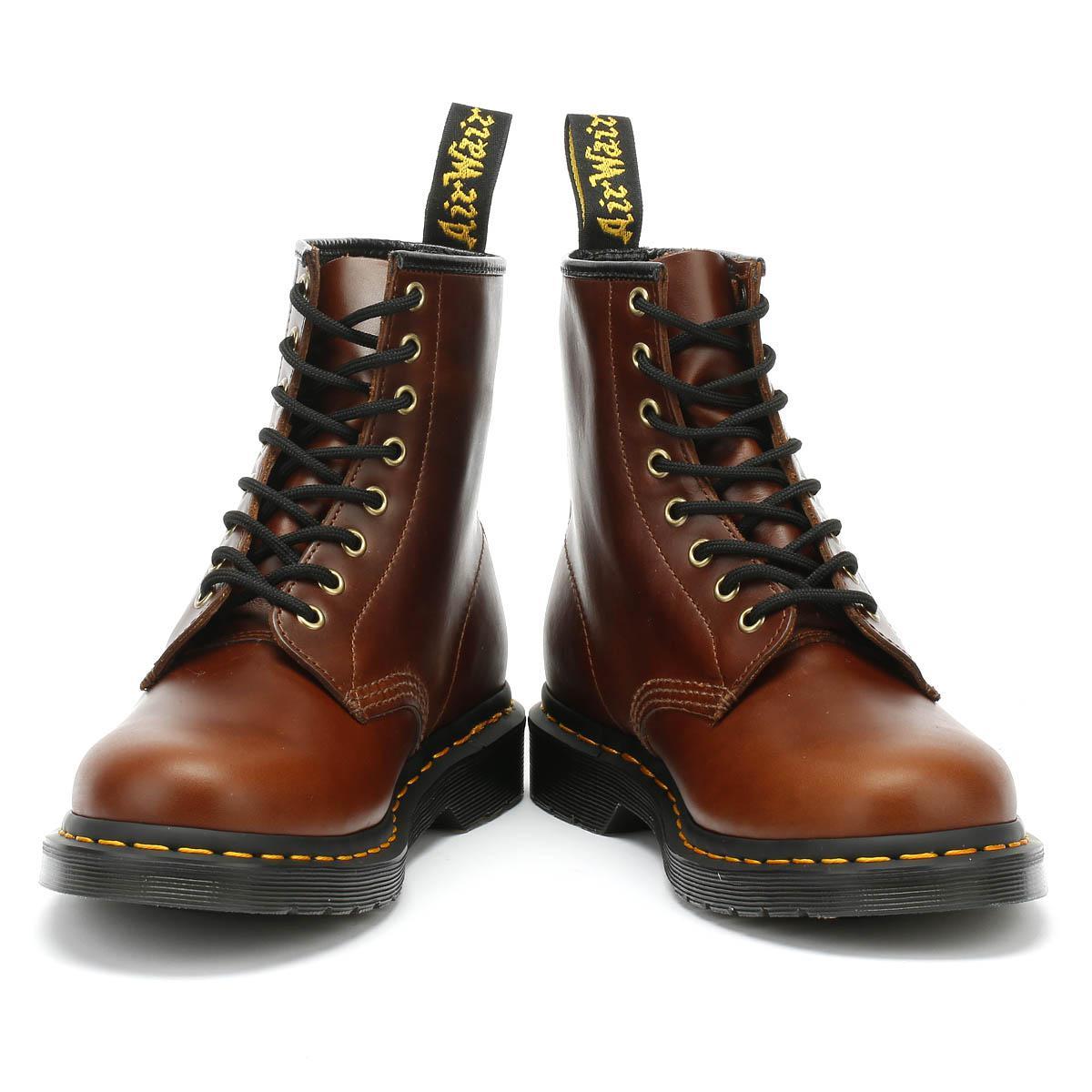 cognac aqua glide Dr Martens Boots