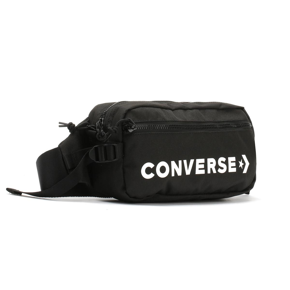 Converse Black   White Fast Pack Sling Bag in Black for Men - Lyst 2848002f29777