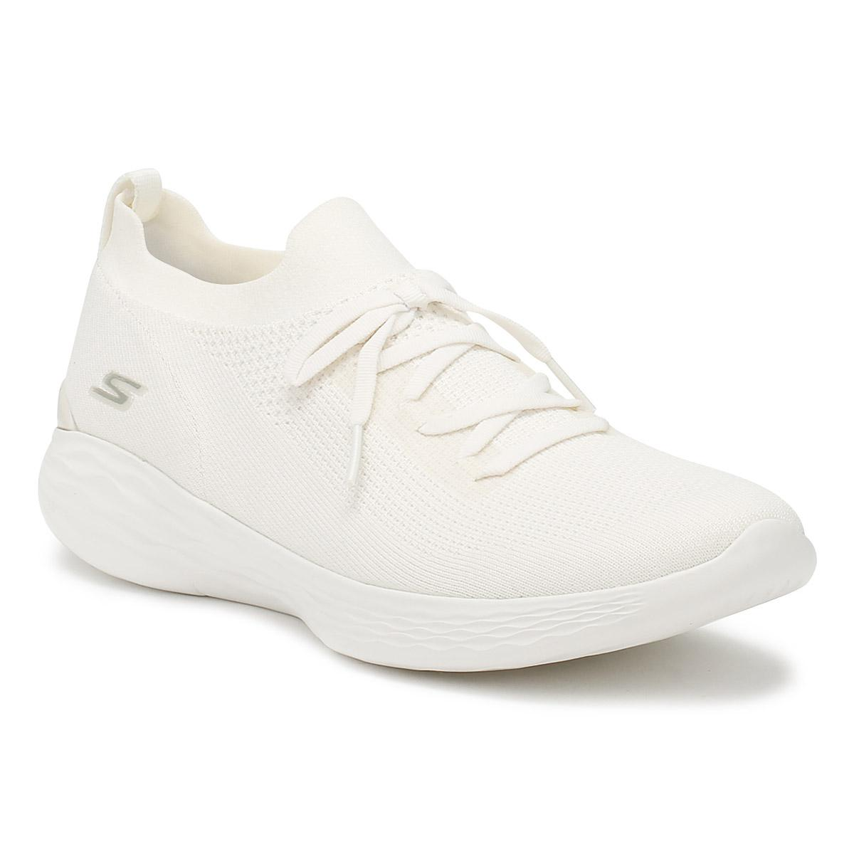 Skechers Womens White You Shine