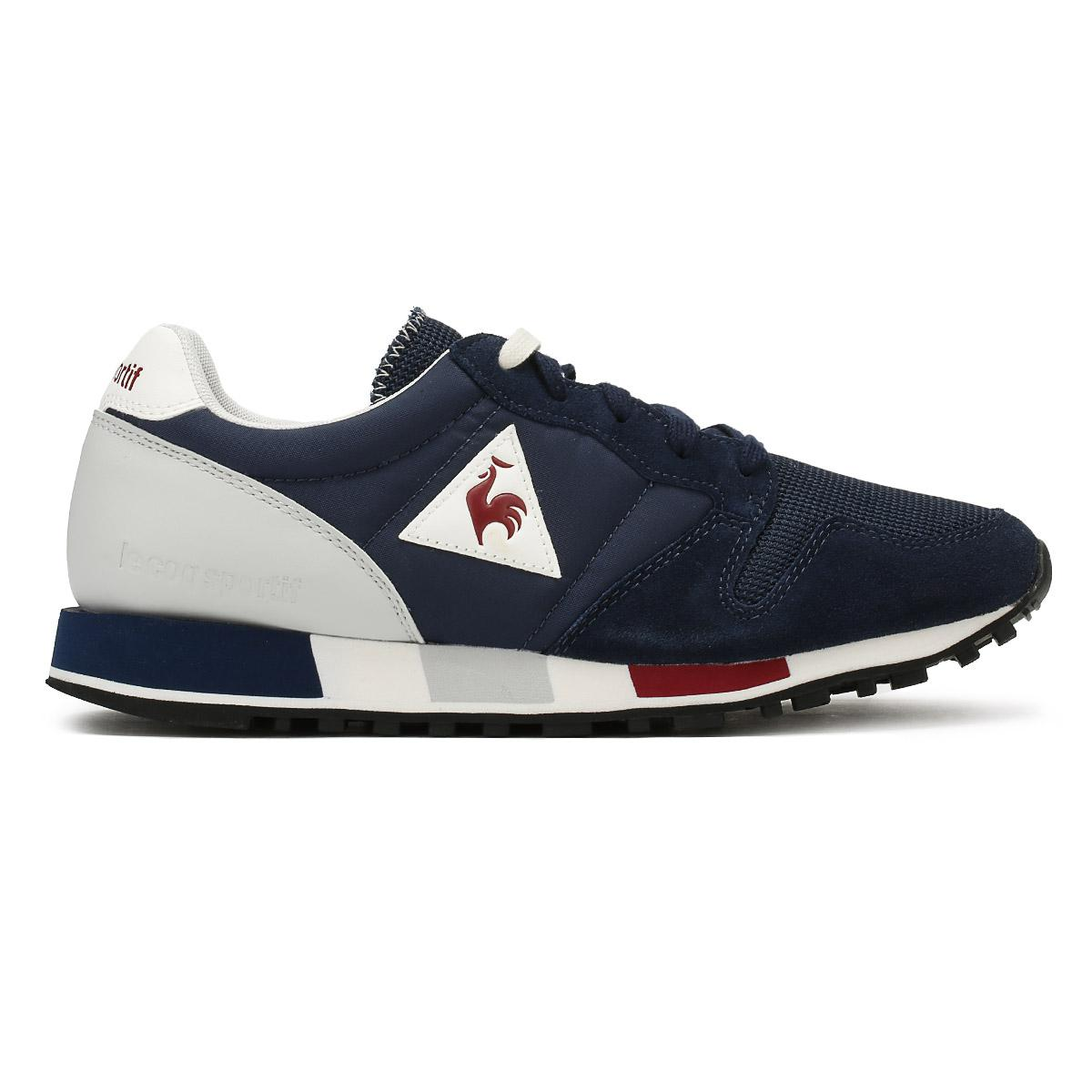 6d3bc5dccda8 Lyst - Le Coq Sportif Mens Dress Blue Omega Nylon Trainers in Blue ...