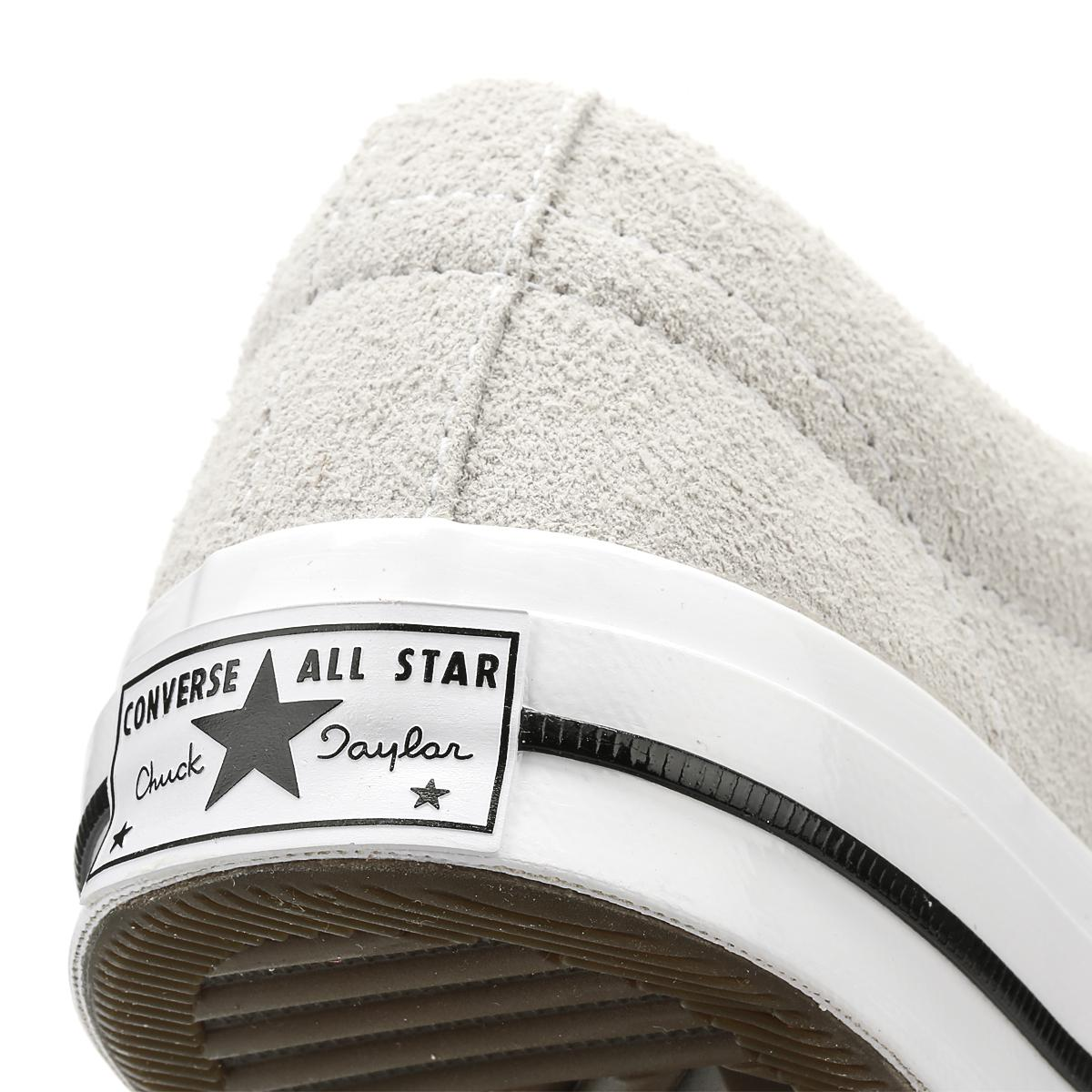Converse Gray One Star Mens Ash Grey Premium Suede Ox Trainers for men