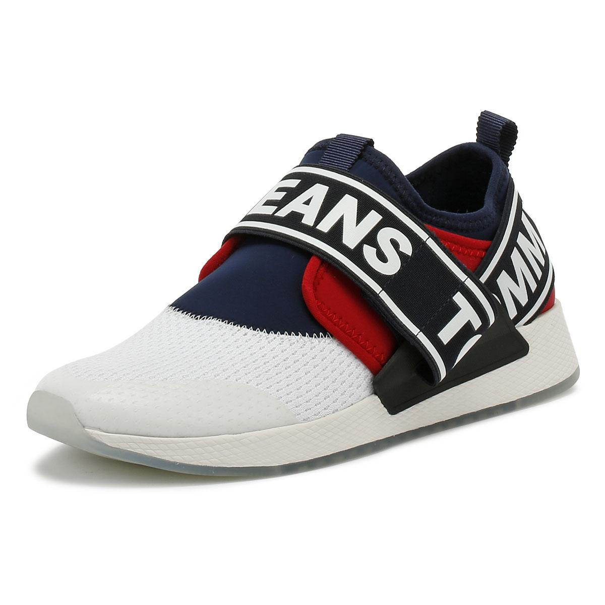 2b5990a6 Tommy Hilfiger Tommy Jeans Flexi Mens Rwb Trainers in Blue for Men ...