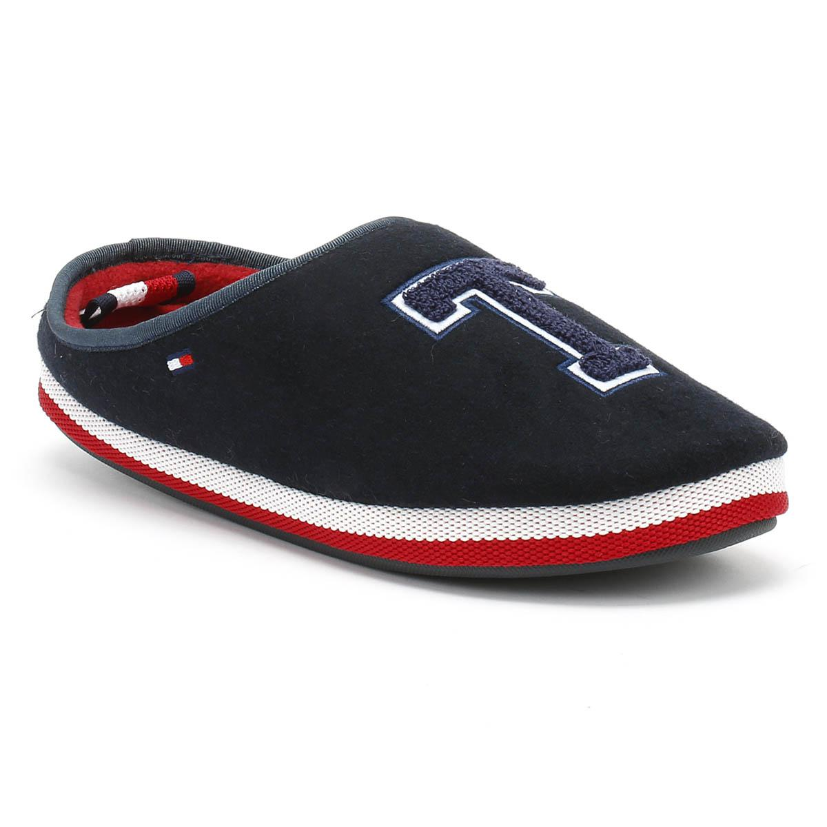 e7a847f2e34e54 ... Tommy Hilfiger. Blue Badge Mens Midnight Home Slippers best deals on  a5f8a 8a9fc ...