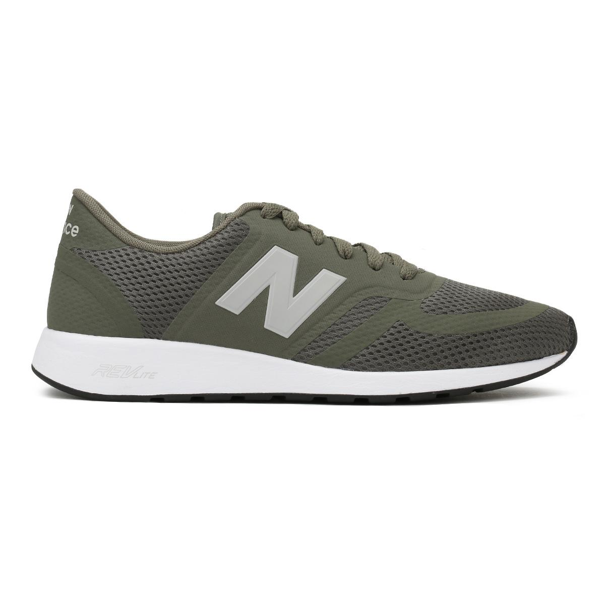 New Balance Synthetic Mens Military Green 420 Trainers for Men ...