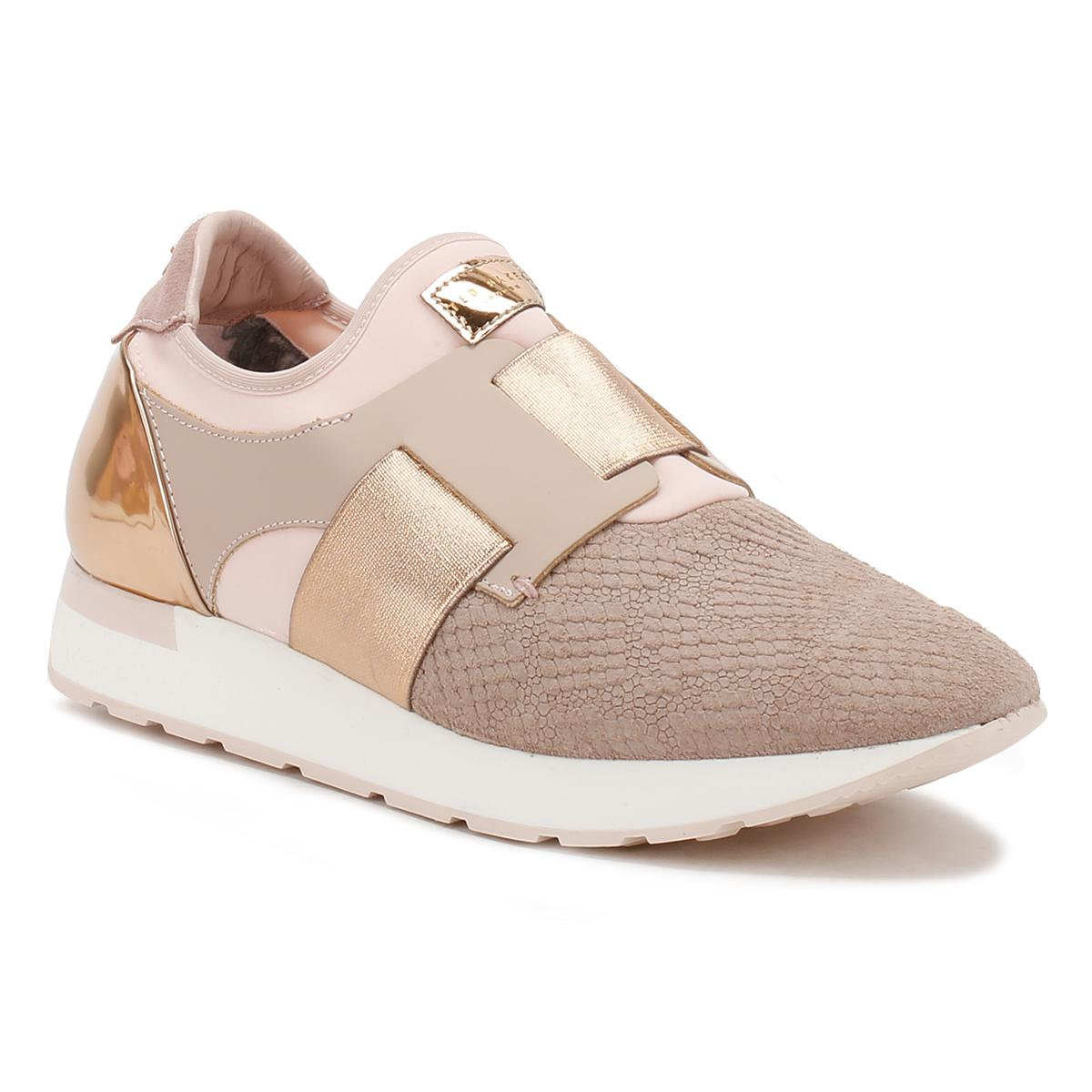 1aa50ef9d Lyst - Ted Baker Womens Pink Kygoa Trainers in Pink