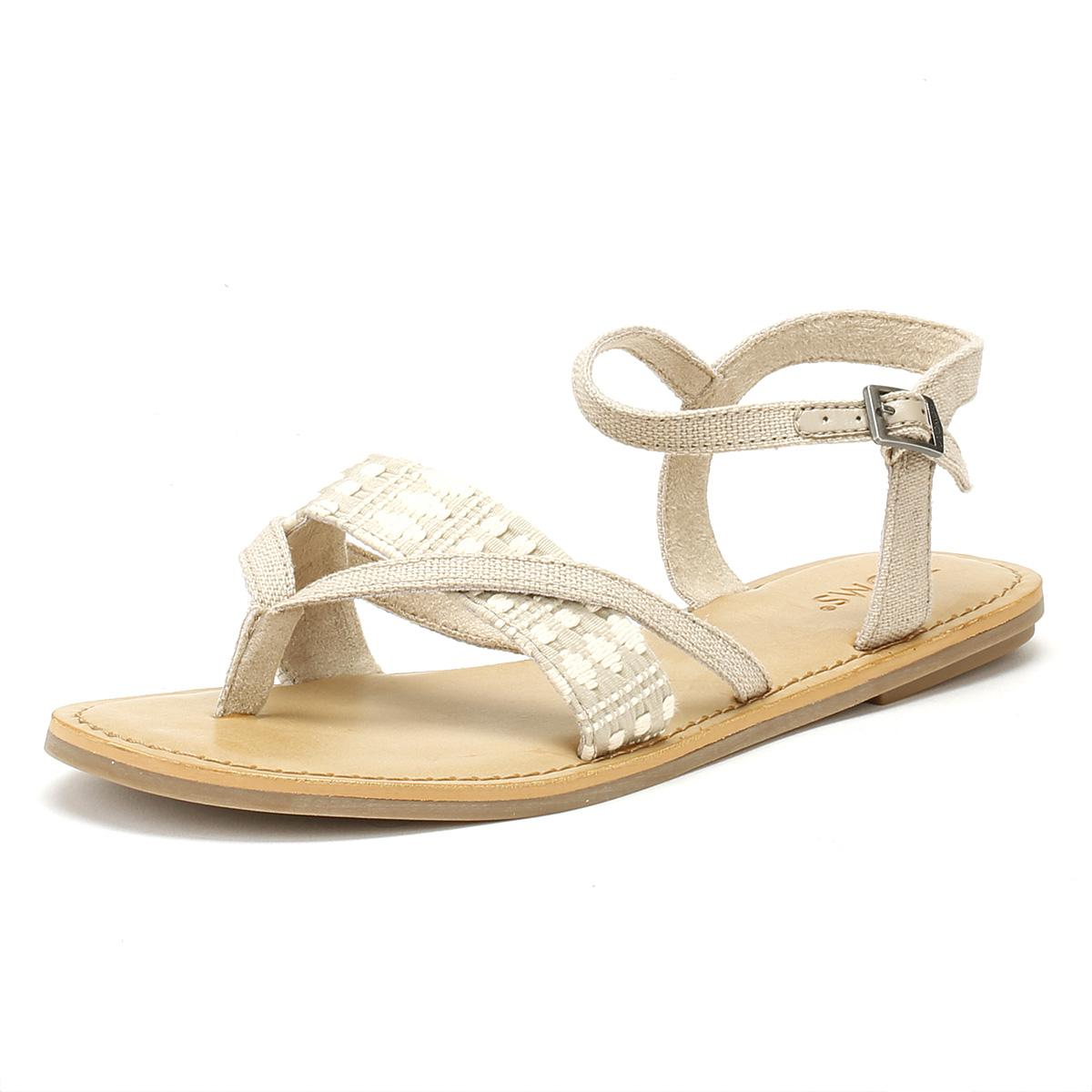 fdff86fdc5d TOMS - Multicolor Womens Oxford Tan Heritage Lexie Sandals - Lyst. View  fullscreen