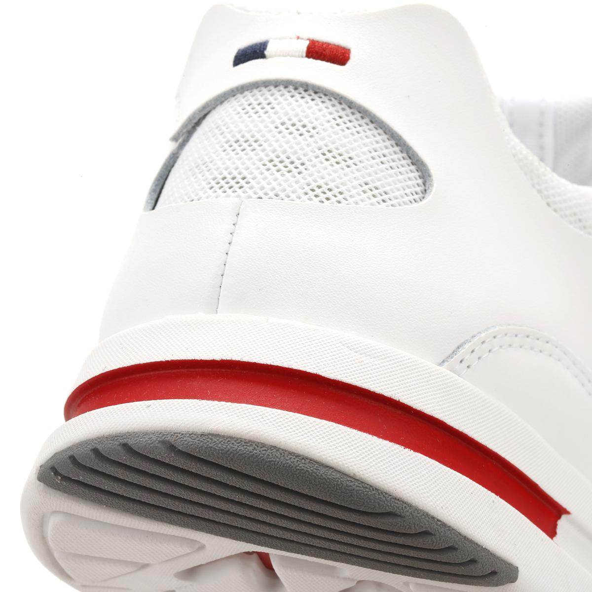 27832e1c934a Lyst - Le Coq Sportif Mens Optical White Lcs R Pure Trainers in ...