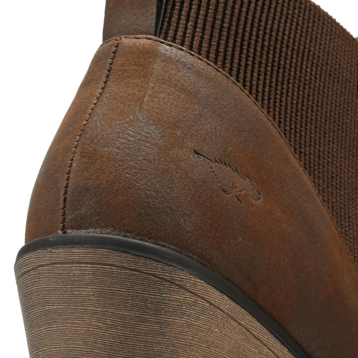 Rocket Dog Womens Brown Graham Alarm Boots Women's Low Ankle Boots In Brown