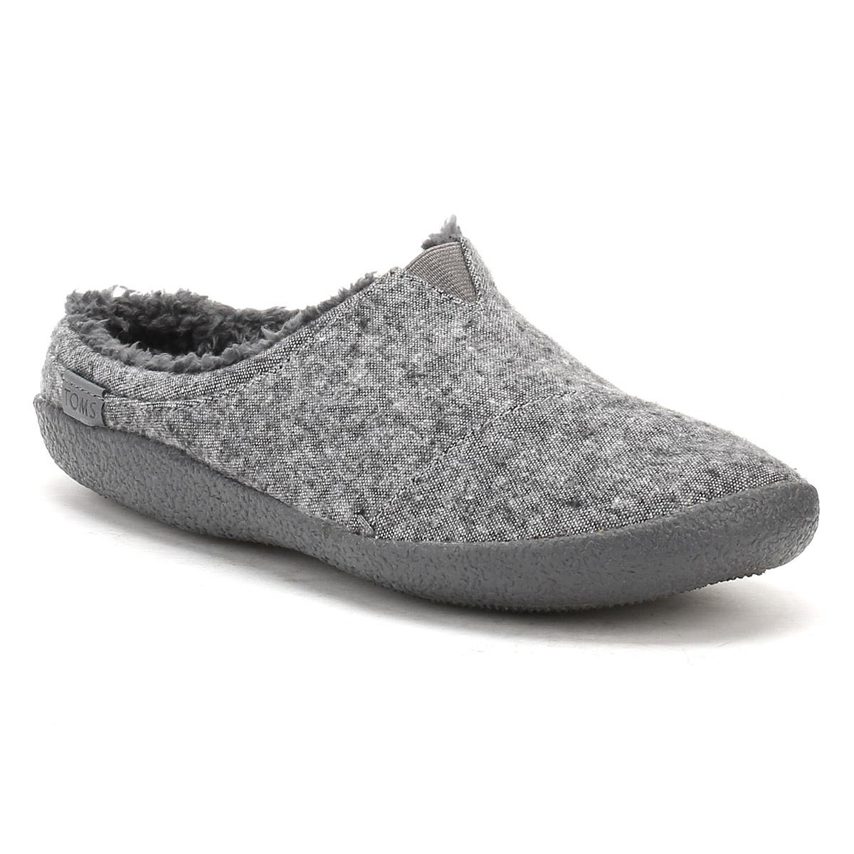 45582a8d8cc2 Toms Mens Grey Textile Berkeley Slippers in Gray for Men - Save ...
