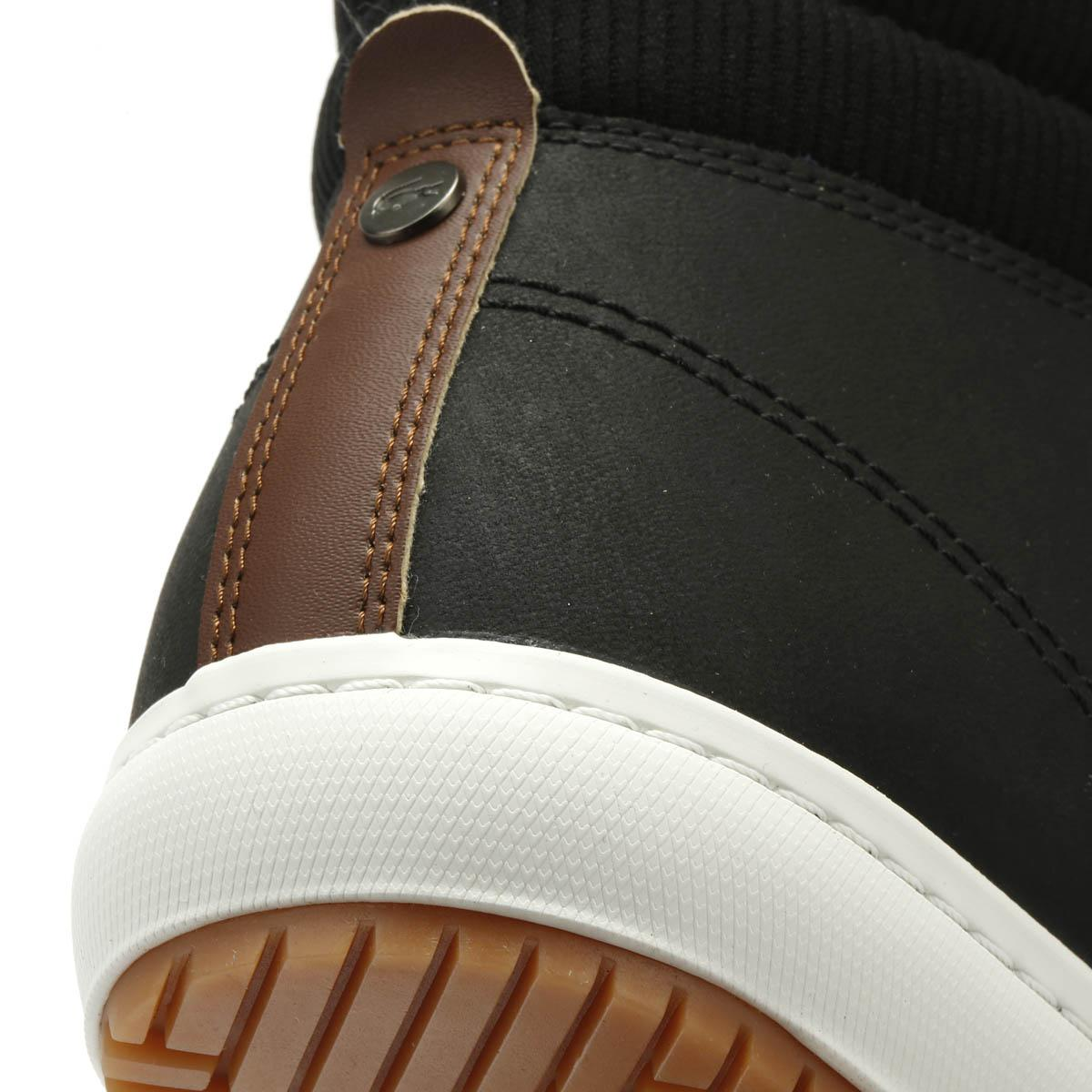 Lacoste Leather 318 Hi Top Insulated