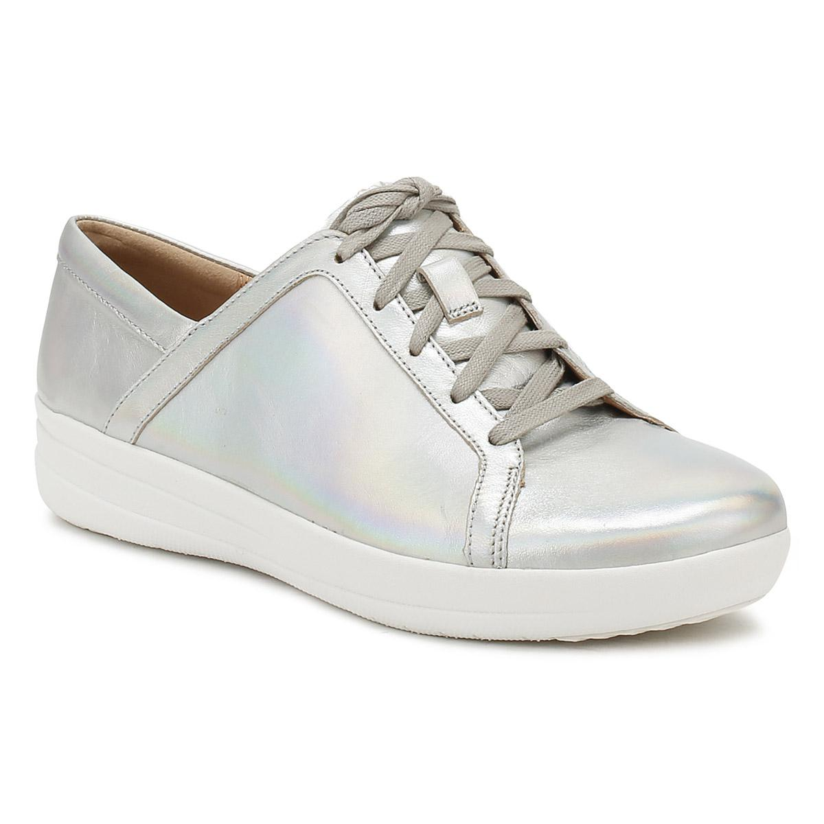 db323655a Lyst - Fitflop Womens Silver Iridescent F-sporty Ii Trainers in Metallic