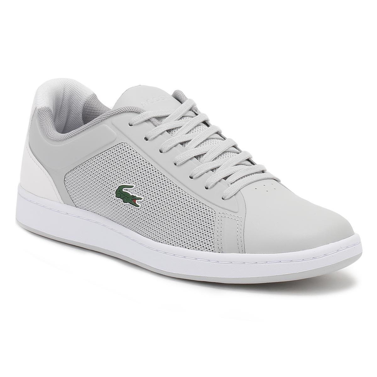 6eff2a01b Lyst - Lacoste Mens Light Grey Endliner 217 1 Spm Trainers in Gray ...