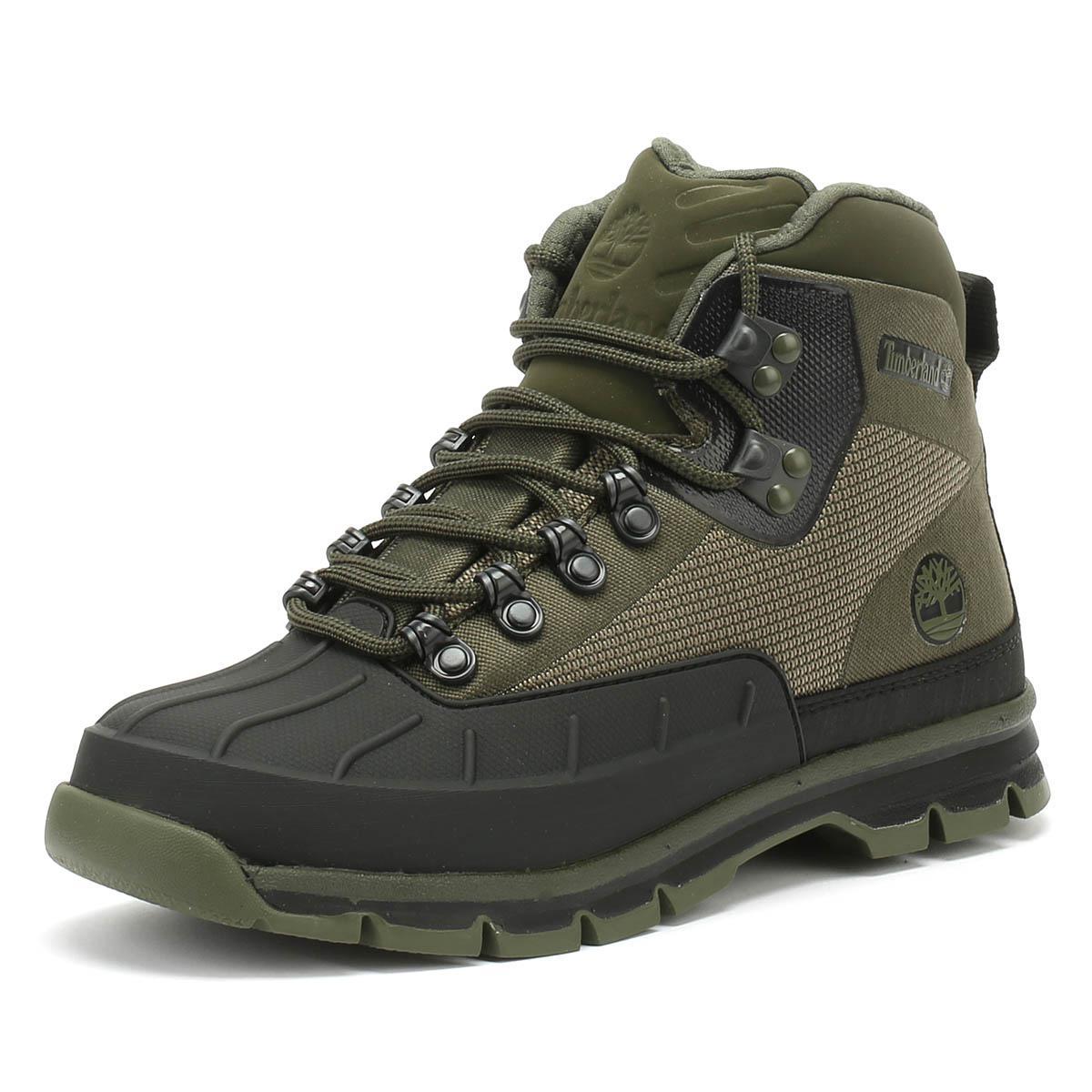 06de9f5246e Euro Hiker Shell Jacquard Mens Green Boots