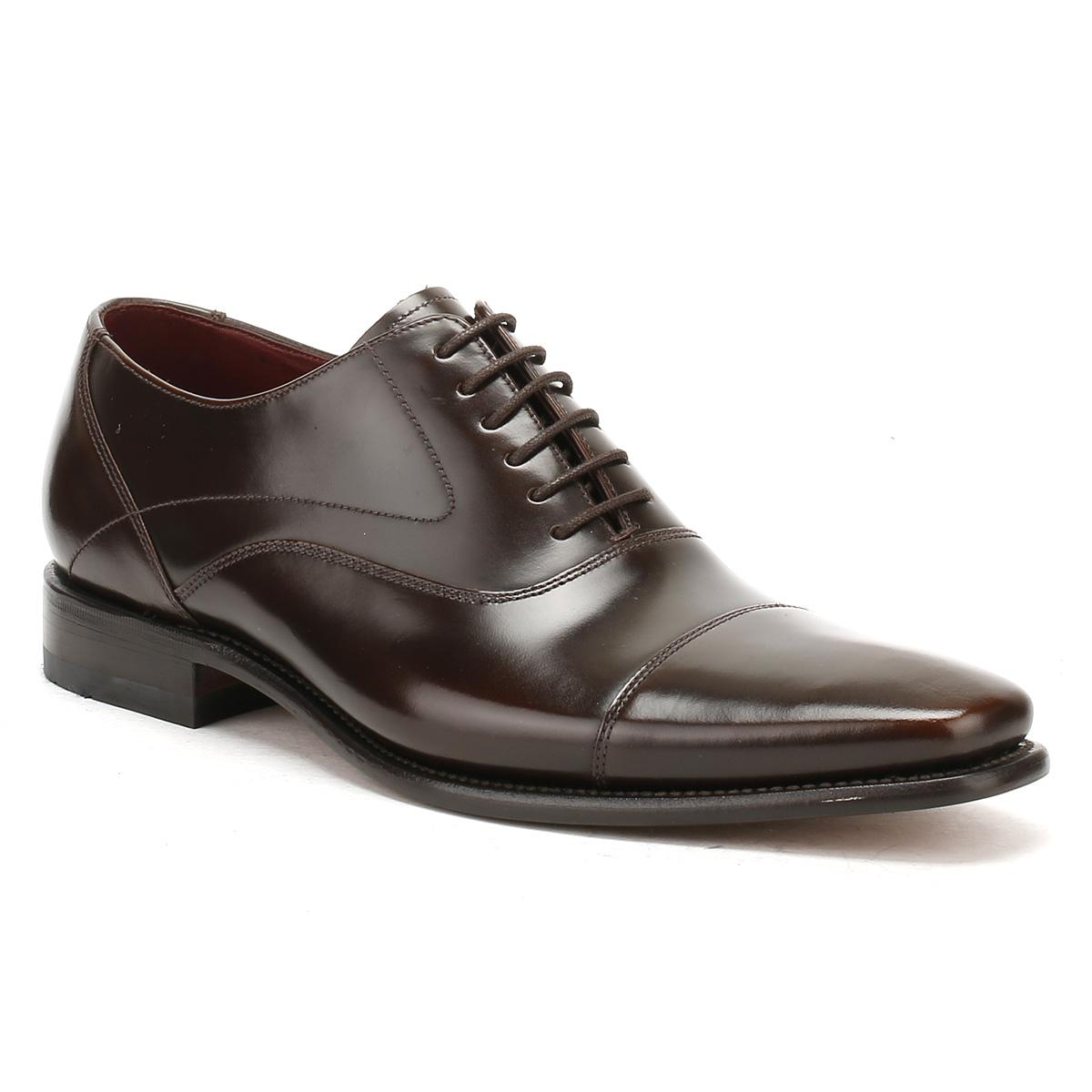 Loake Sharp Leather Shoes Black
