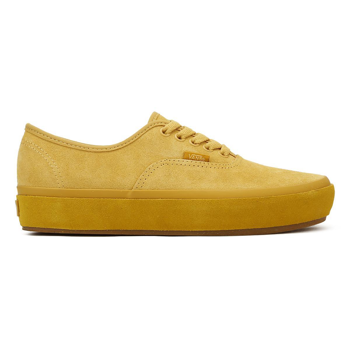 Vans Canvas Womens Ochre Yellow