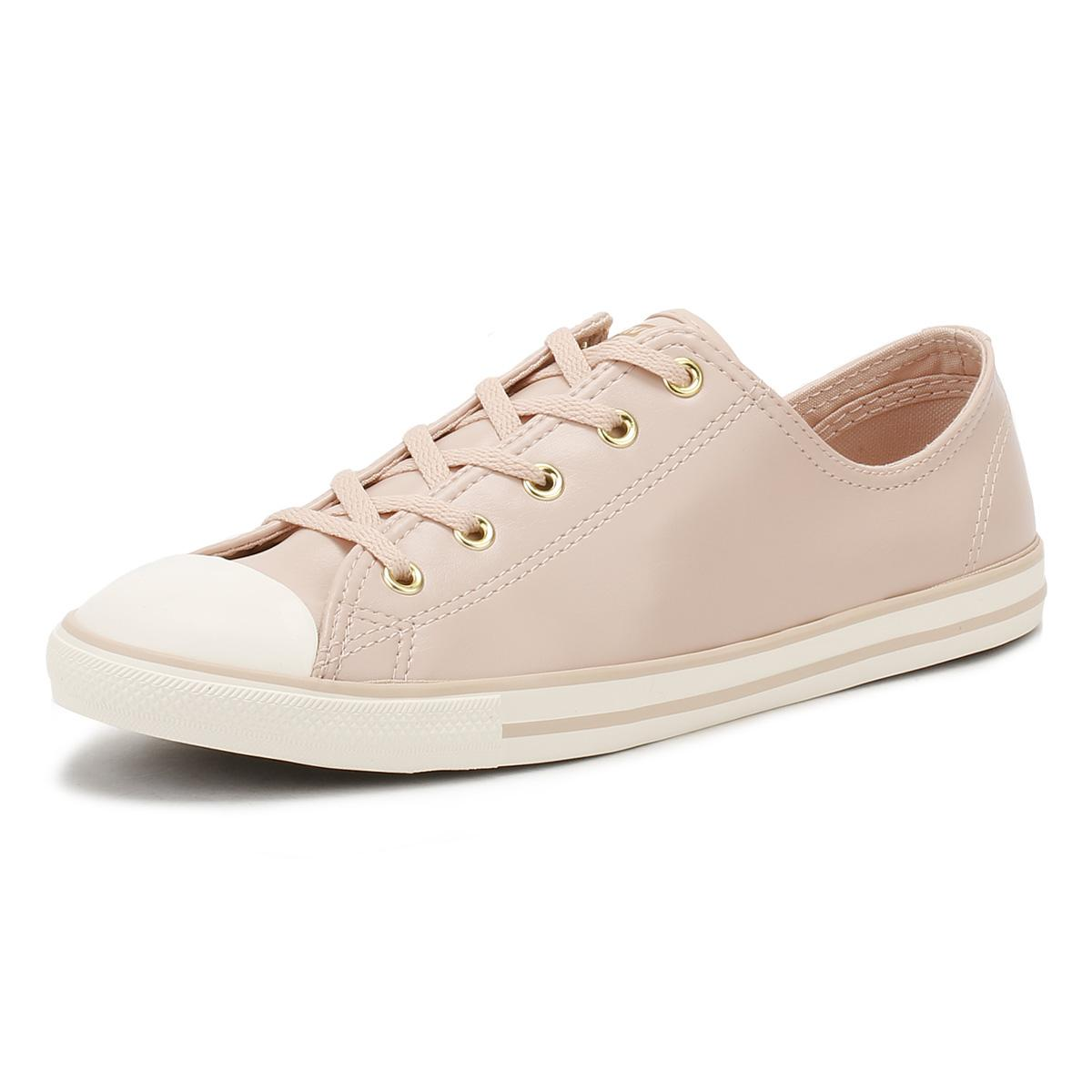 Converse Leather Chuck Taylor All Star Womens Dusk Pink Dainty Ox ...