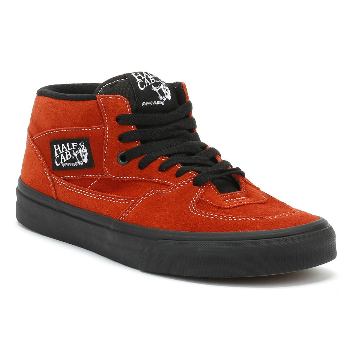 c2ed7f98bf Lyst - Vans Mens Bossa Nova Red   Black Half Cab Trainers in Red for Men