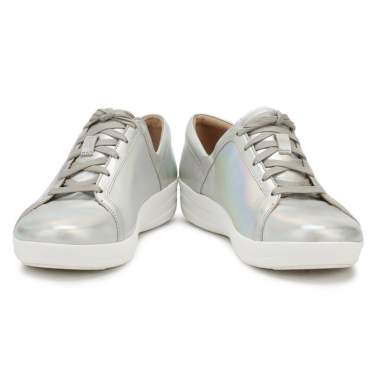 Fitflop Leather Womens Silver