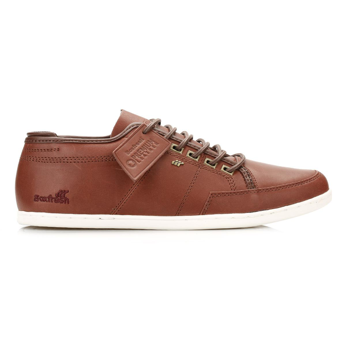 ... Fresh Mens Russet Sparko Leather Trainers for Men | Lyst. View  Fullscreen