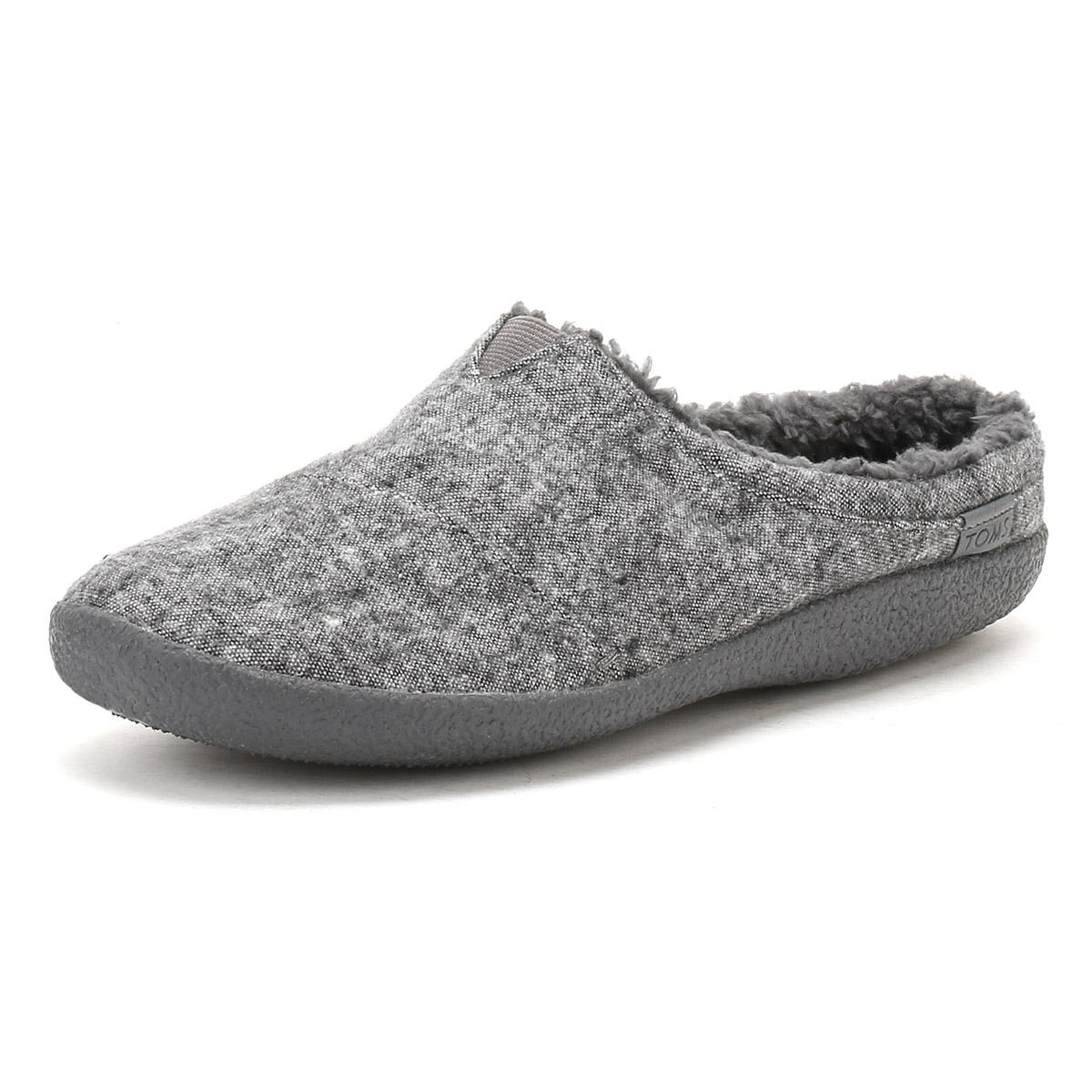 334dec122ae TOMS - Gray Mens Grey Textile Berkeley Slippers Men s Slippers In Grey for  Men - Lyst. View fullscreen